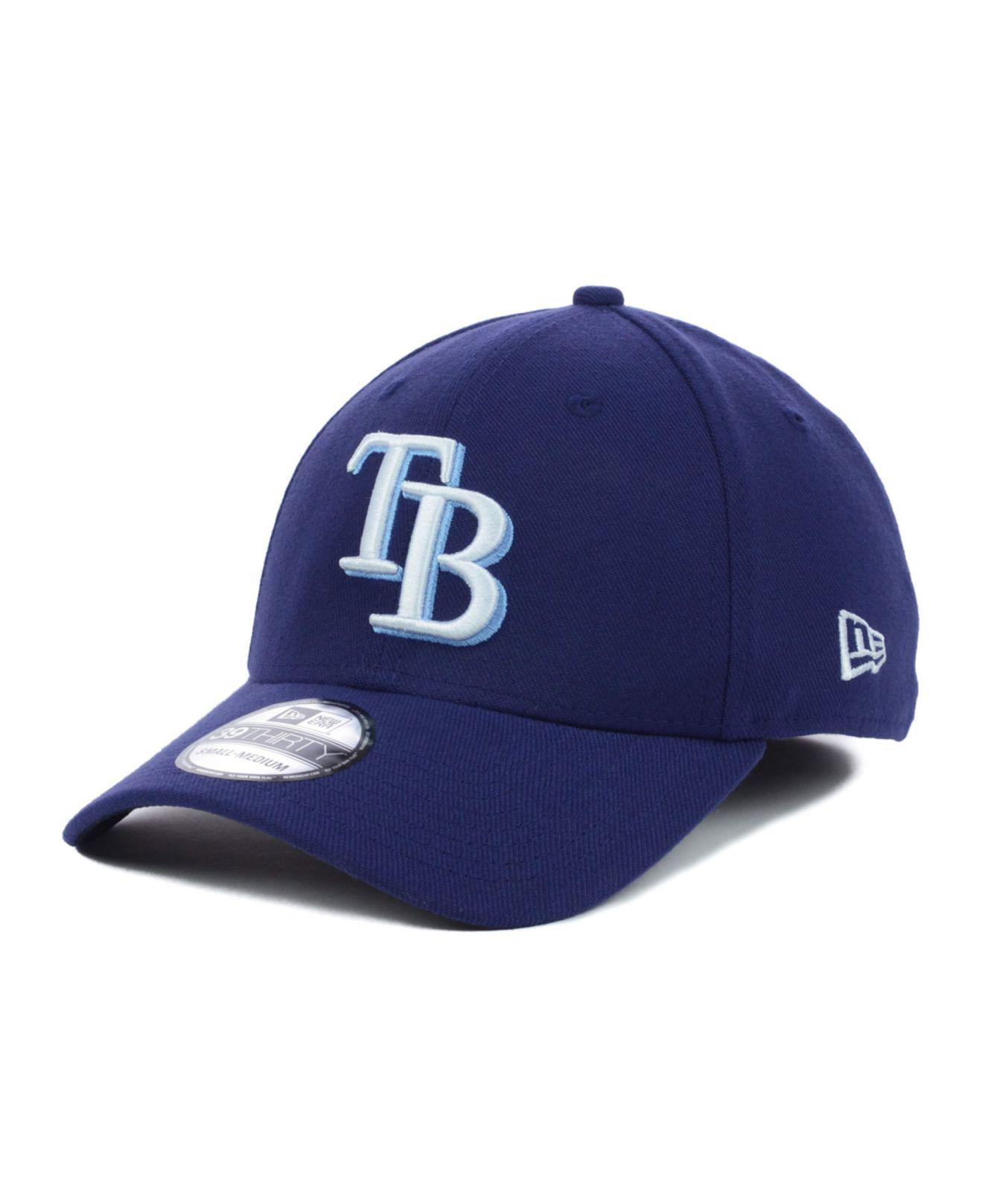 save off 8c8b9 d247b ... australia ktz. mens blue tampa bay rays mlb team classic 39thirty cap  a96d1 84522