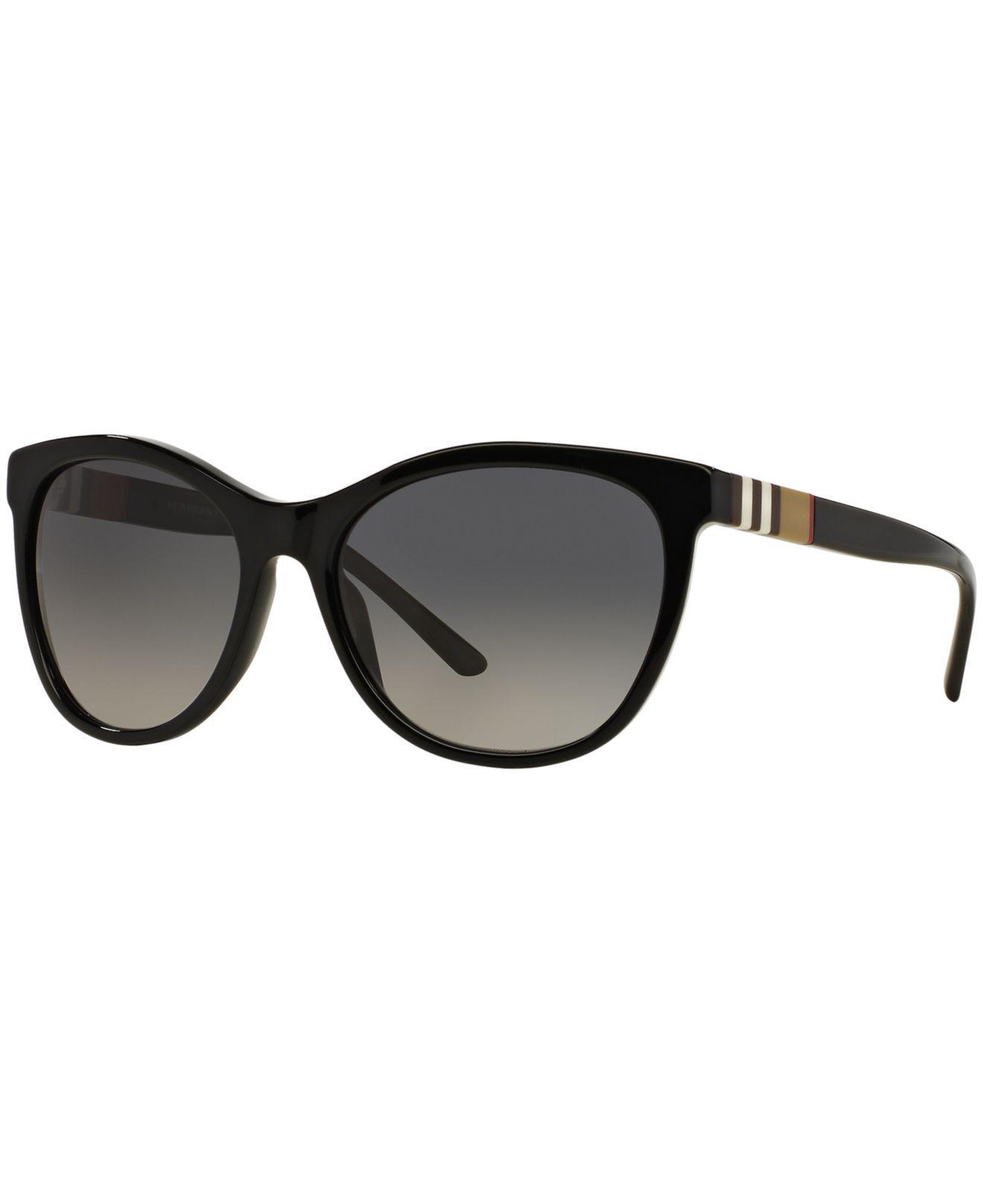 951e03f5f6 Burberry. Women s Black Sunglasses ...