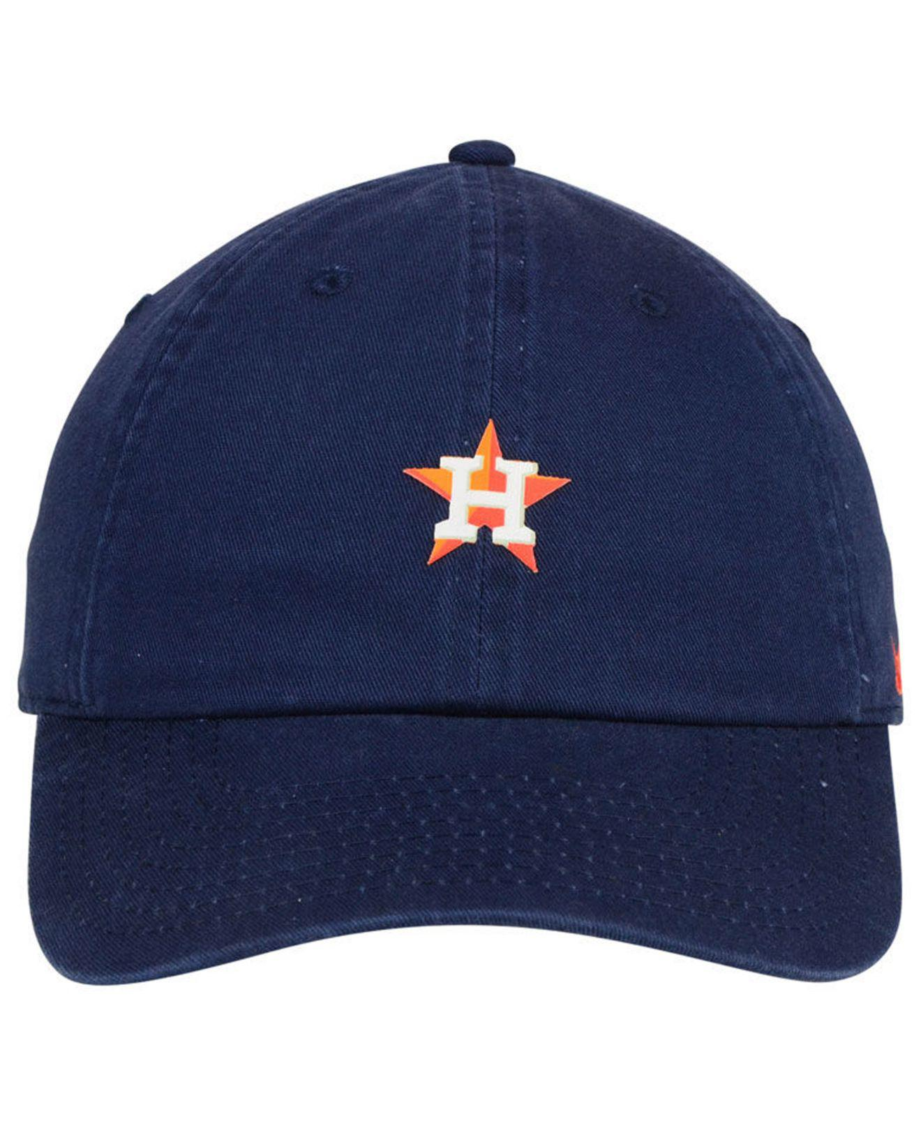 newest 257fd 4eb1f ... wholesale lyst nike houston astros micro cap in blue for men c22b0 aada6