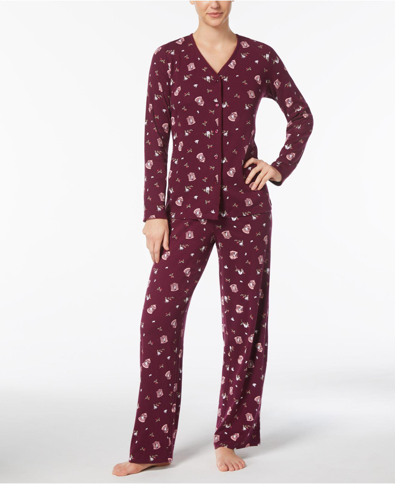 9154bcc005 Gallery. Previously sold at  Macy s · Women s Pajama Sets Women s Equipment  Avery Women s Silk ...