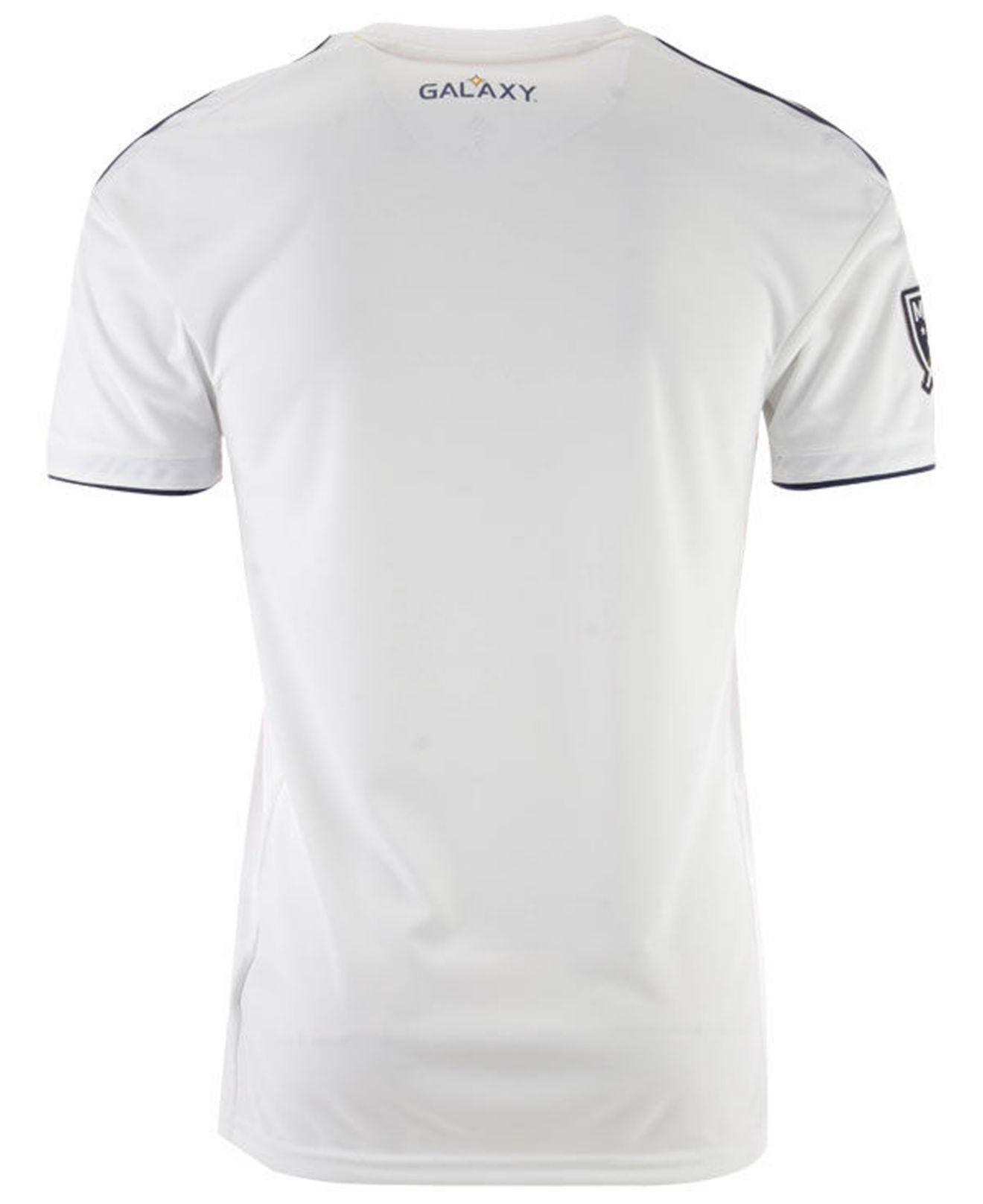 6f404cba1 Lyst - adidas La Galaxy Primary Replica Jersey in White for Men