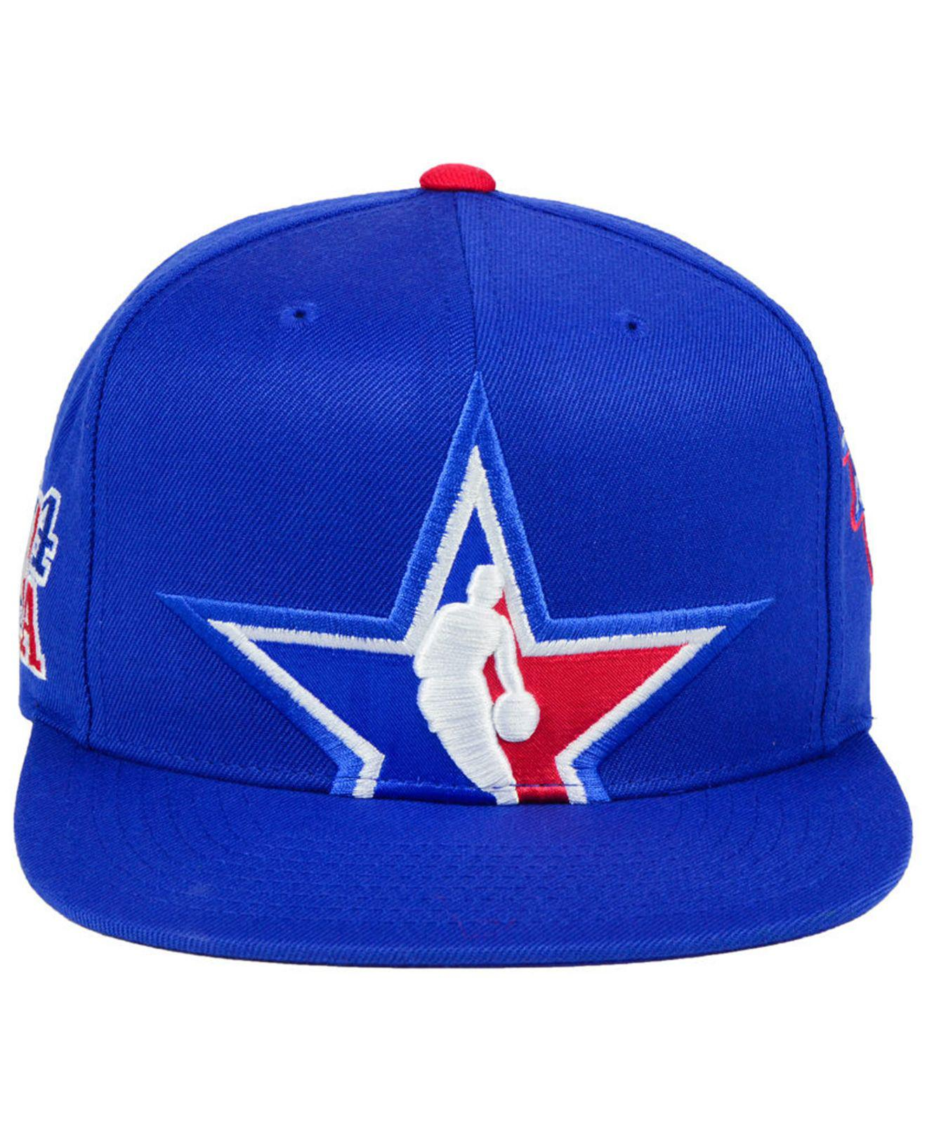 huge discount d4192 c540b Mitchell   Ness 2018 Nba All Star Collection East Snapback Cap in ...