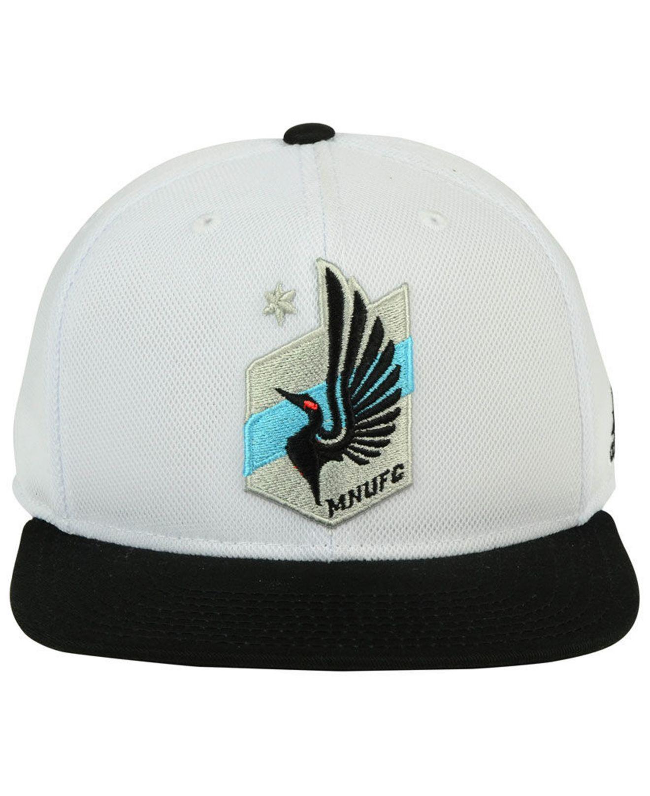 the best attitude 6eceb 02c77 ... buy lyst adidas minnesota united fc 2tone snapback cap for men 79c29  ac21f