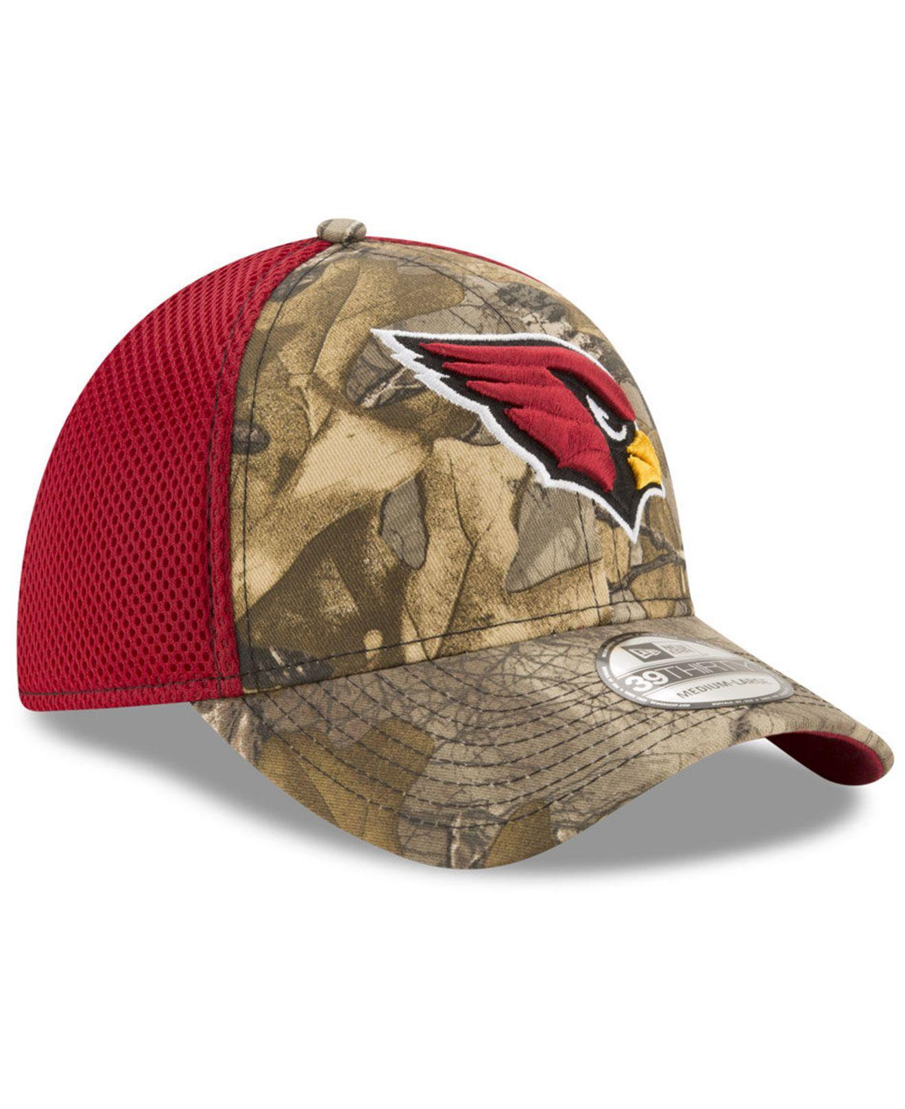 size 40 0270b 6988d ... coupon for arizona cardinals realtree camo team color neo 39thirty cap  for men lyst. view