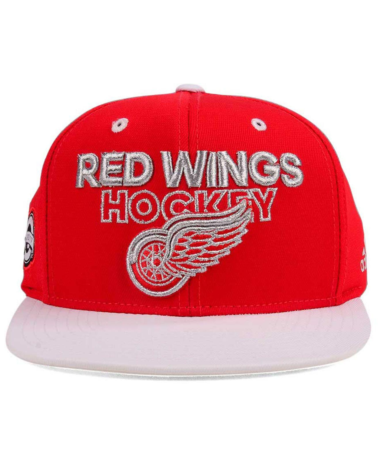 new styles 6af06 485fe sweden coupon code lyst adidas 100th celebration snapback cap in red for men  1831a 9bd85 17786