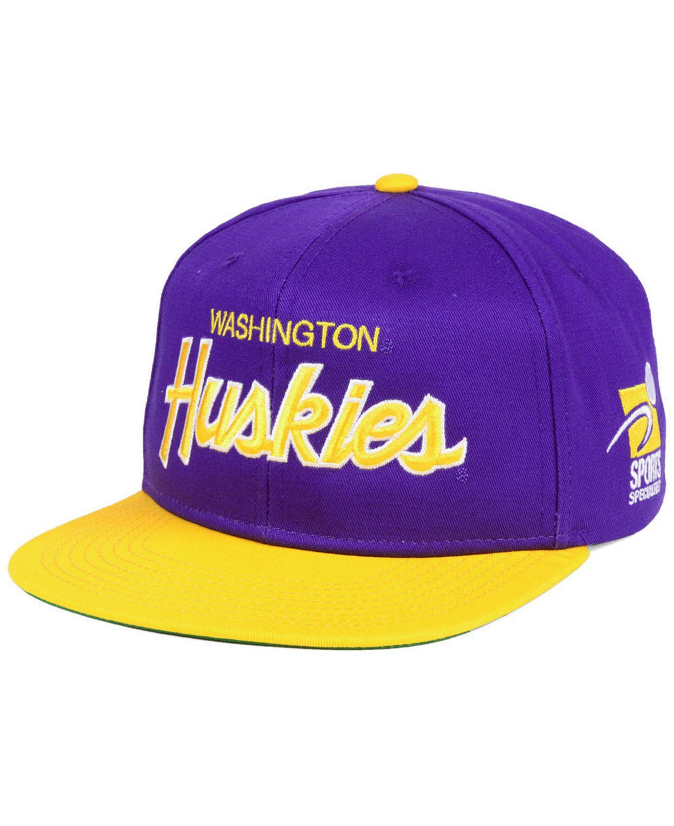 2c8590b261429 ... coupon lyst nike washington huskies sport specialties snapback cap in  148a8 40de1