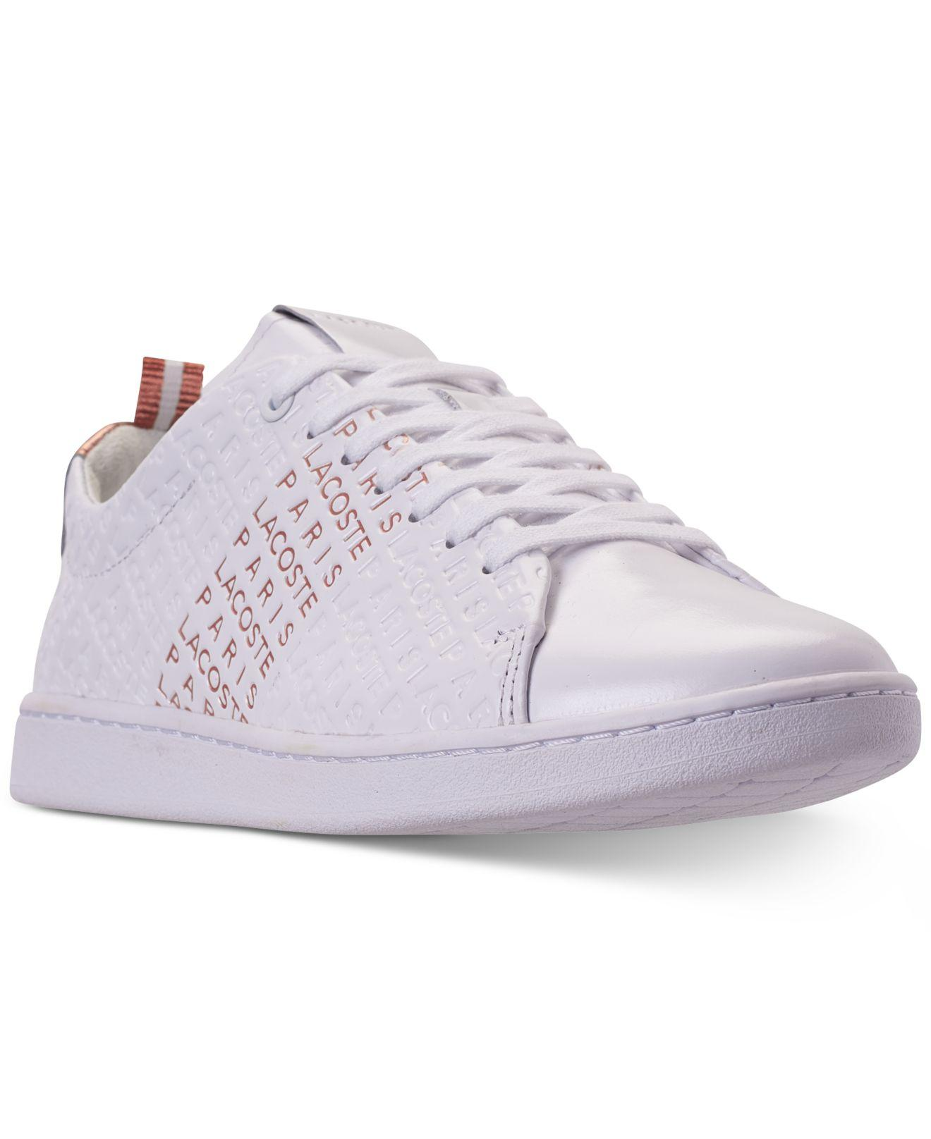 3b77d7d4a Lyst - Lacoste Carnaby Evo Paris Casual Sneakers From Finish Line