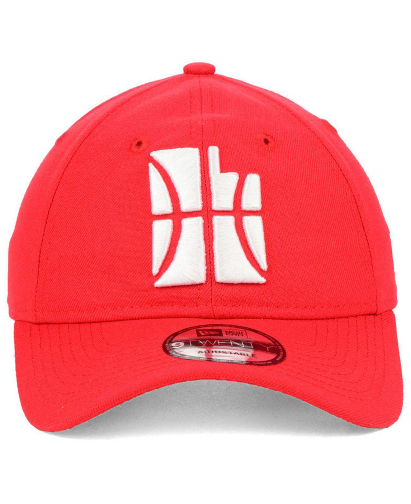 f88e0366 KTZ Utah Jazz City Series 9twenty Strapback Cap in Red for Men - Lyst