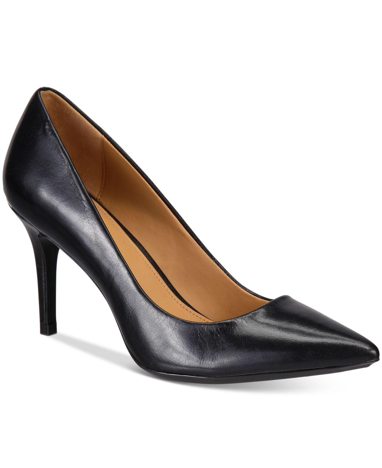 a013eeba0bc Lyst - Calvin Klein Gayle Pumps in Black - Save 51%