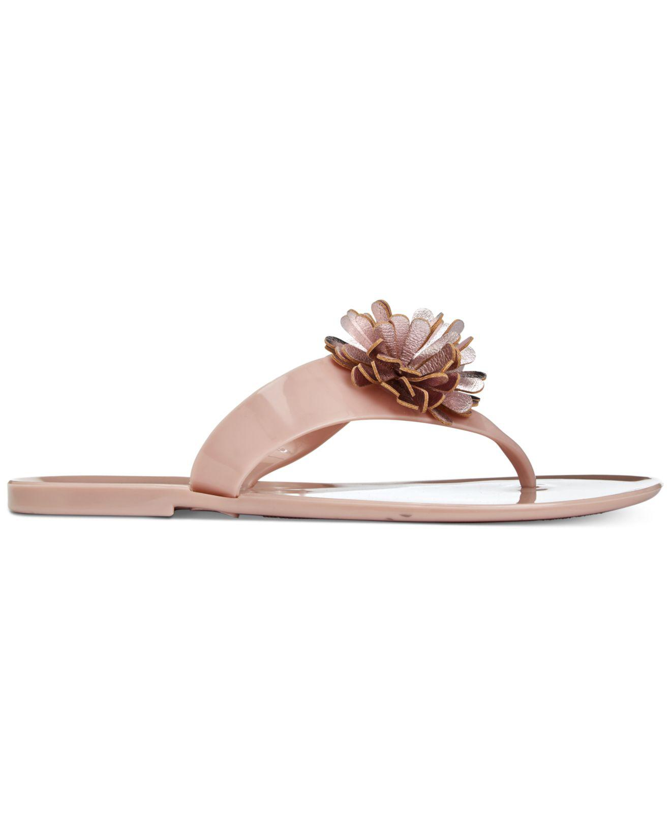 4c2b717216c8 Charter Club Daphnee Flat Thong Jelly Sandals, Created For Macy's - Lyst