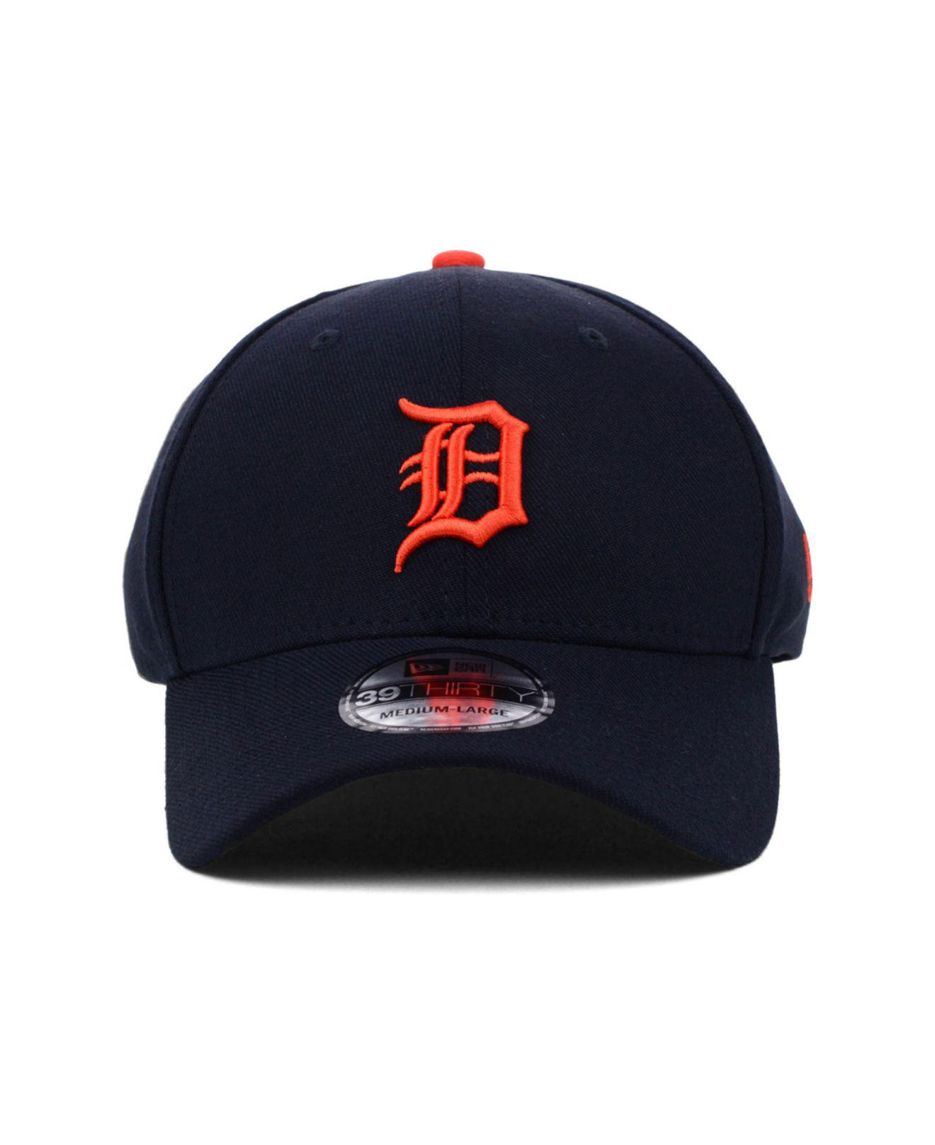 Lyst - KTZ Detroit Tigers Mlb Team Classic 39thirty Cap in Blue for Men 93f6a0282