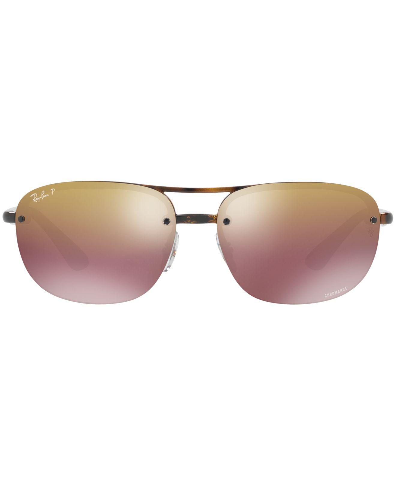 89685324498 Lyst - Ray-Ban Polarized Chromance Collection Sunglasses
