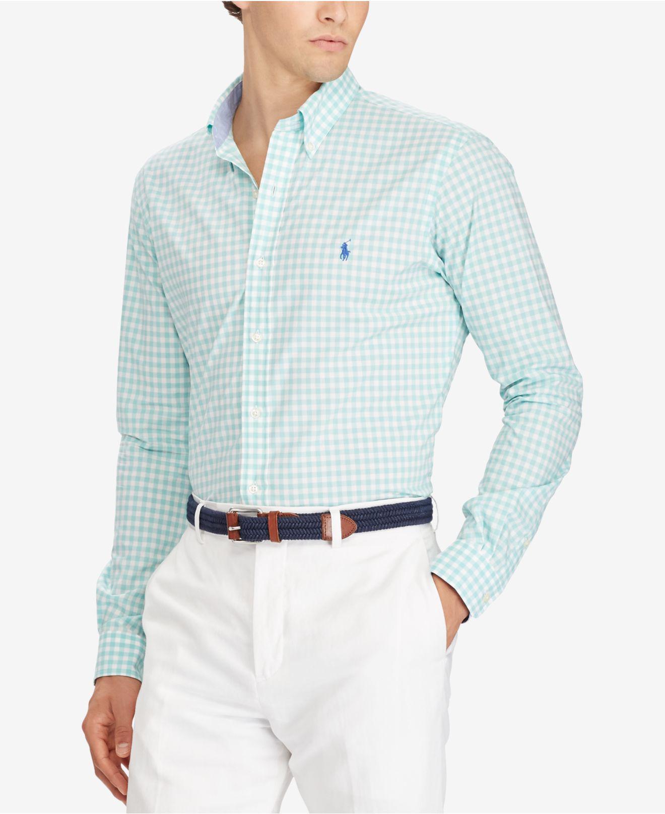 Macys Polo Ralph Lauren Mens Dress Shirts