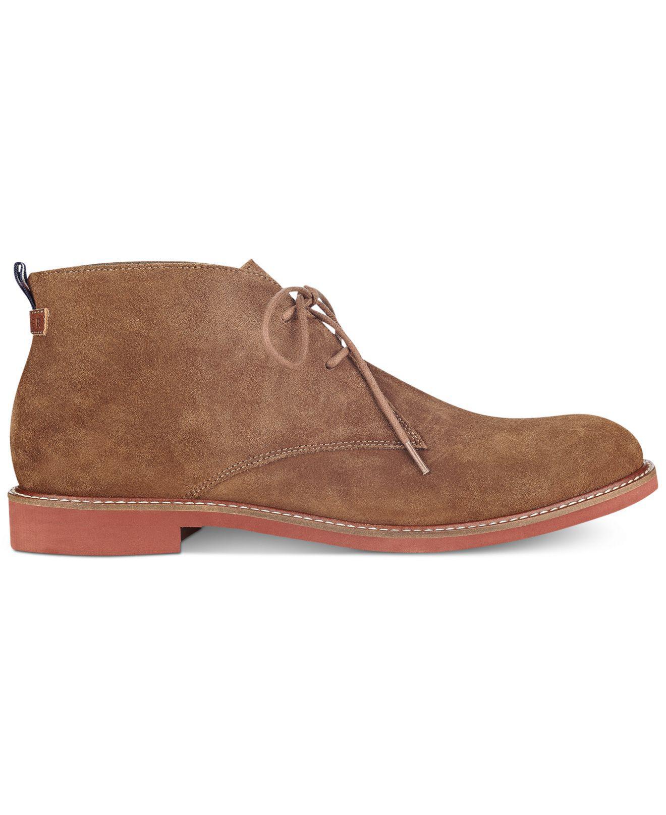 af1e68c1e Tommy Hilfiger - Brown Men s Gervis Chukka Boots for Men - Lyst. View  fullscreen