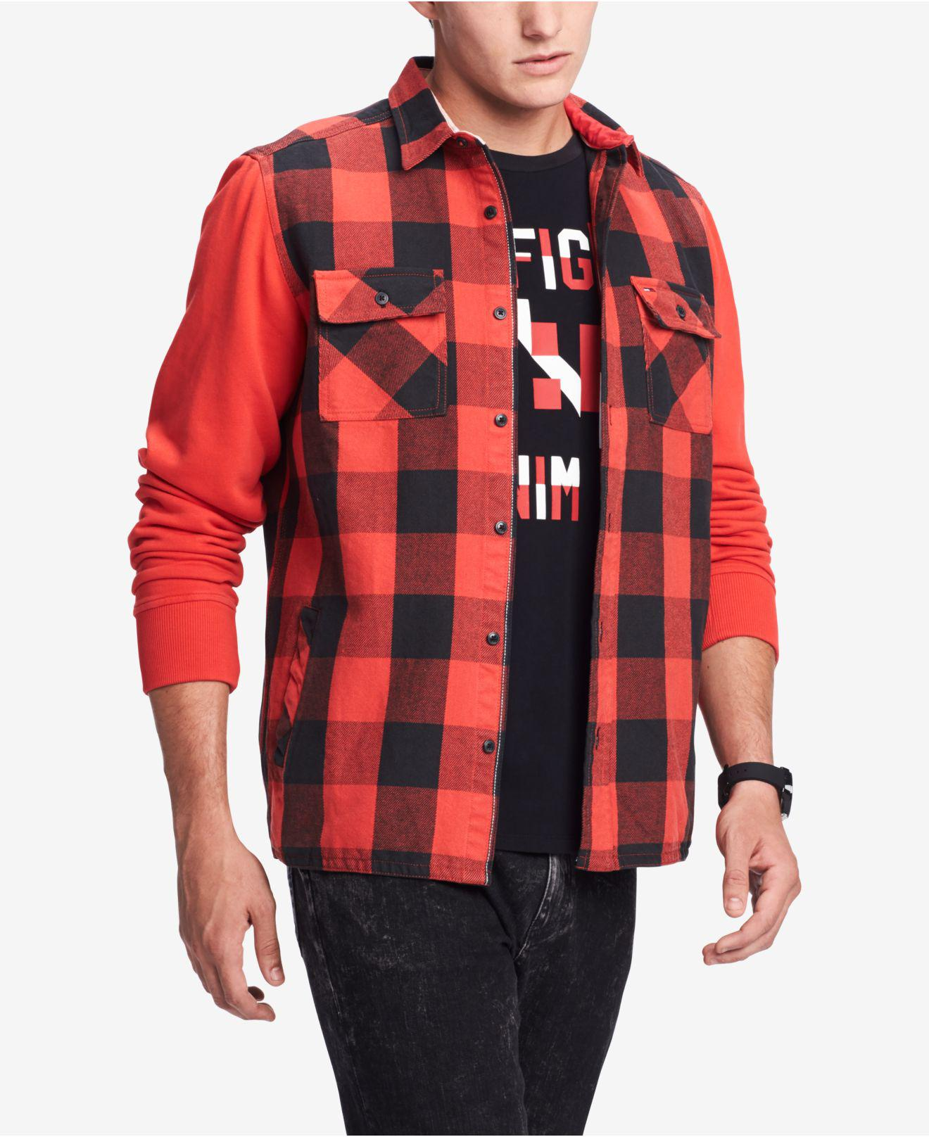 18e2ce59d405 Lyst - Tommy Hilfiger Bowery Classic-fit Buffalo Plaid Shirt ...