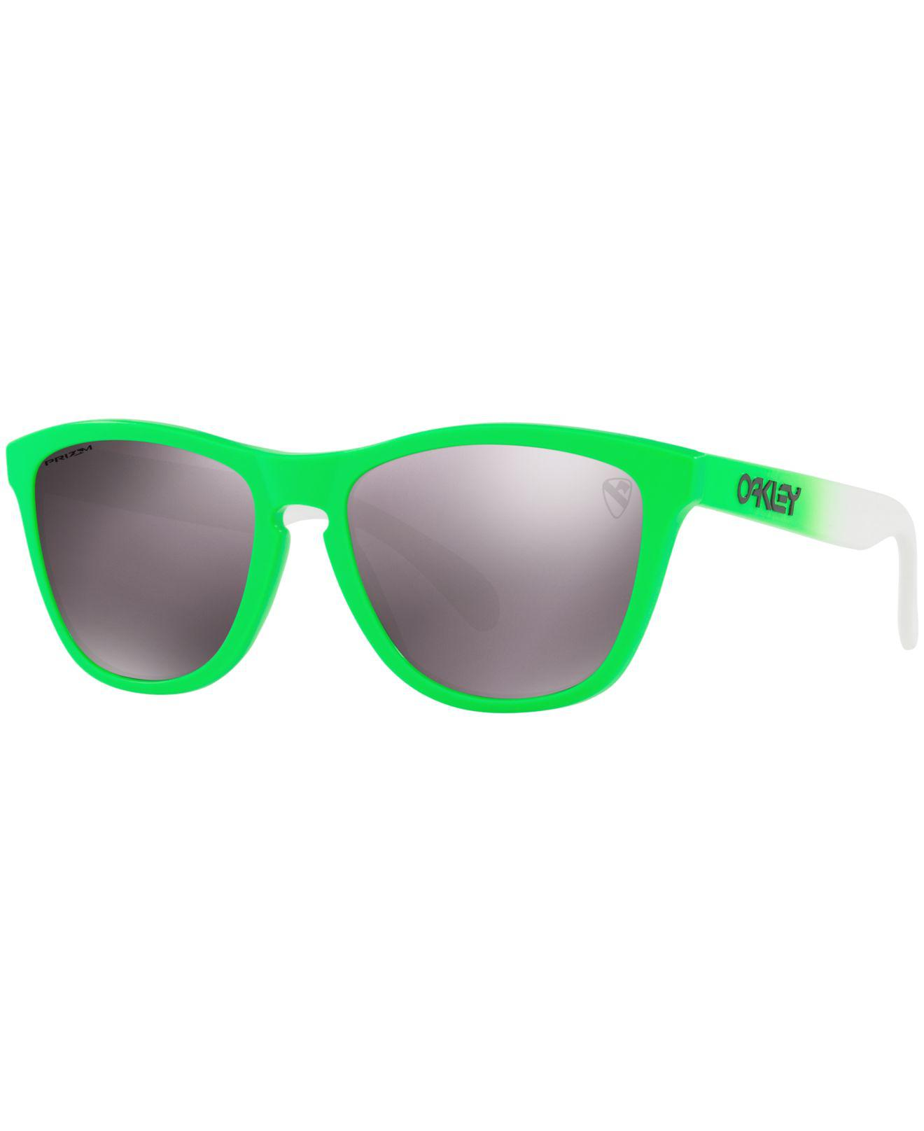 83d6e7091a Oakley. Women s Green Frogskin Prizm Sunglasses