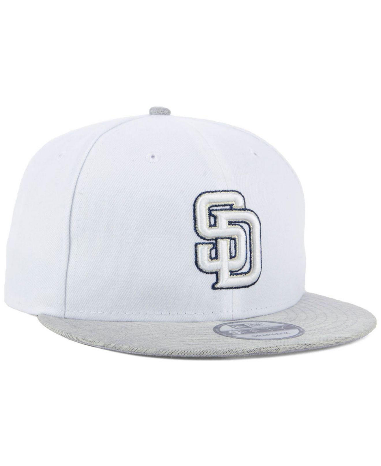 newest collection 64fd1 5845d ... coupon code for san diego padres bright heather 9fifty snapback cap for men  lyst. view