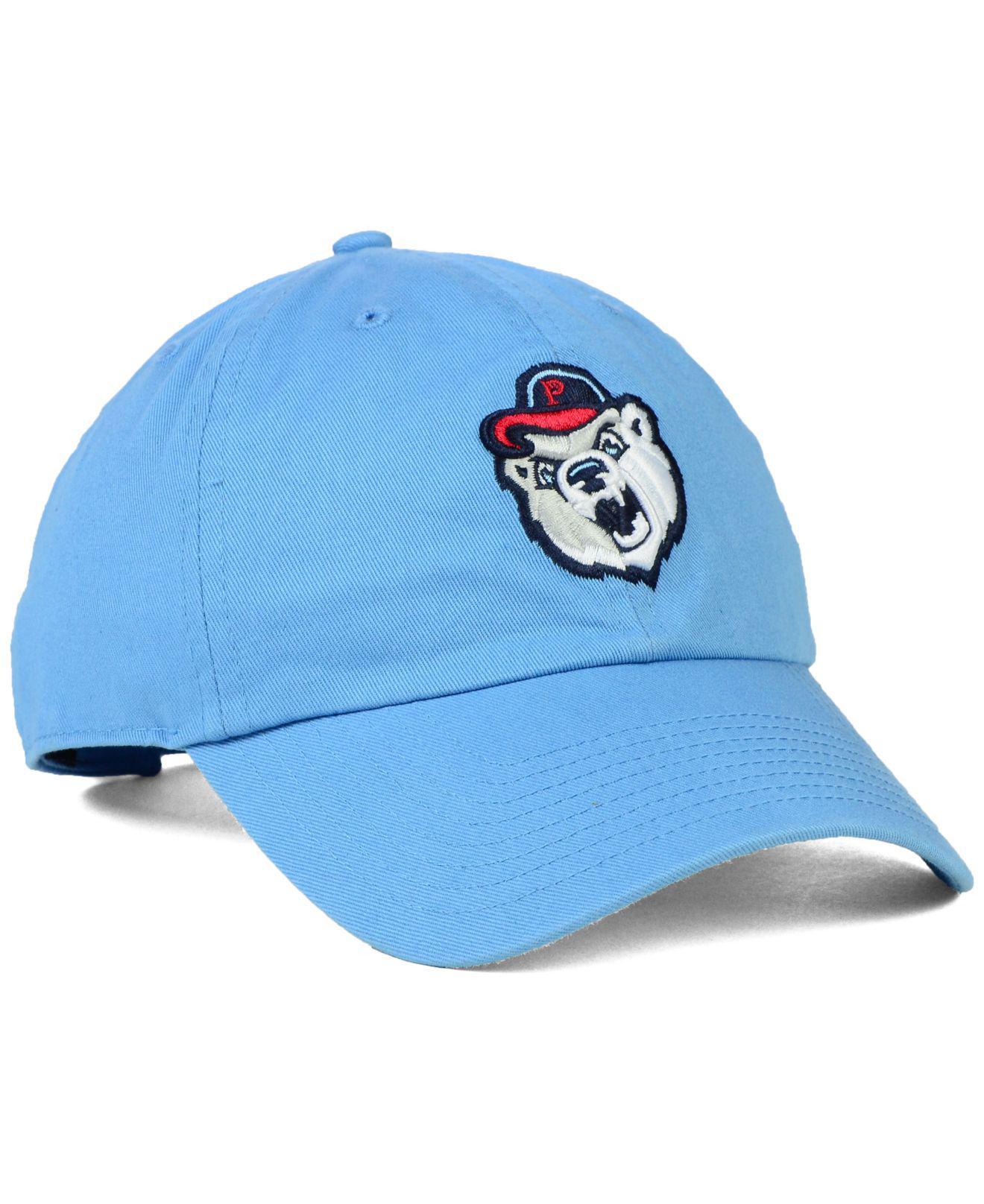 classic a7a23 523b7 ... Pawtucket Red Sox Clean Up Cap for Men - Lyst. View fullscreen