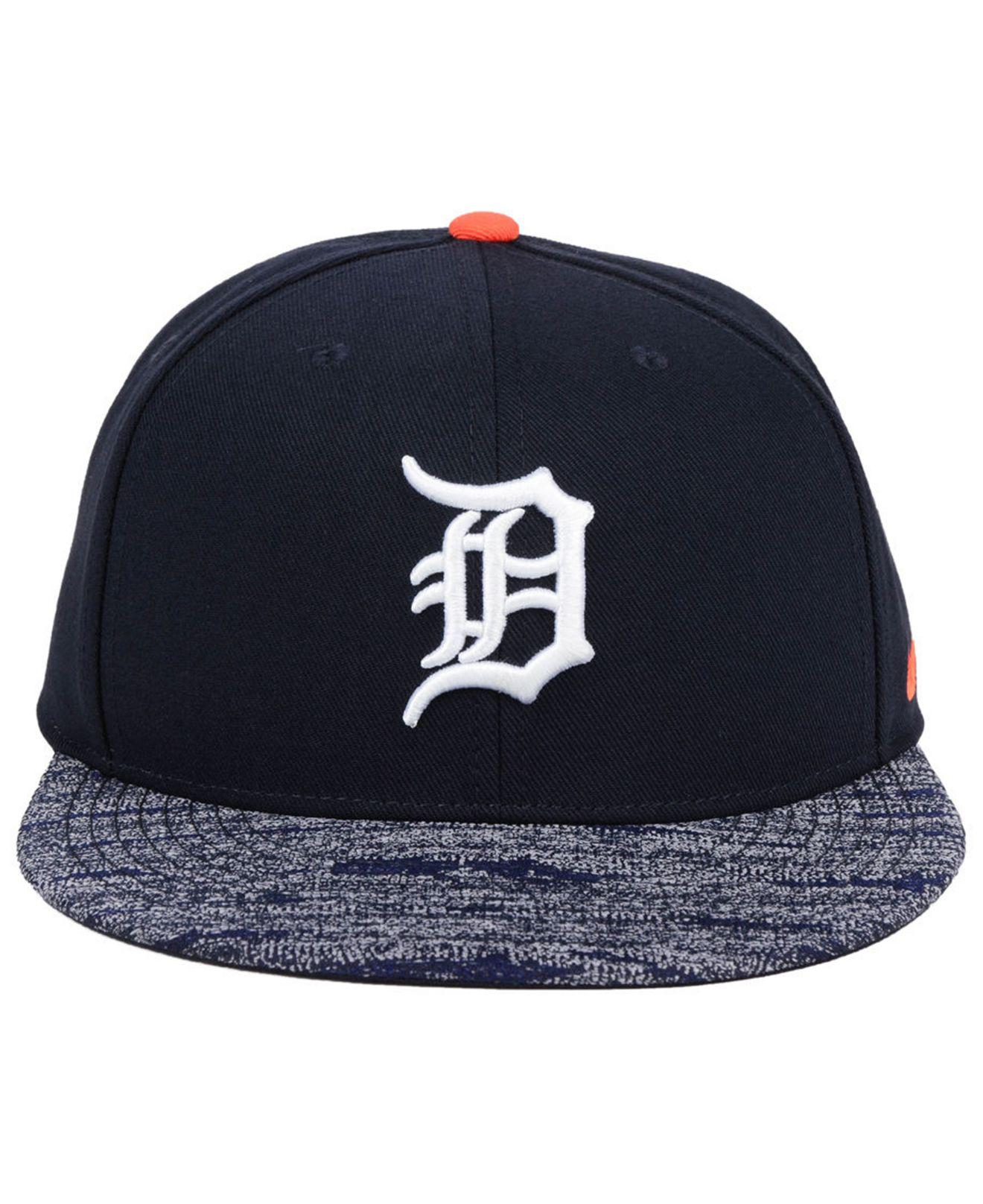 wholesale dealer 0b97e f754e Lyst - Nike Detroit Tigers Reverse New Day Snapback Cap in Blue for Men