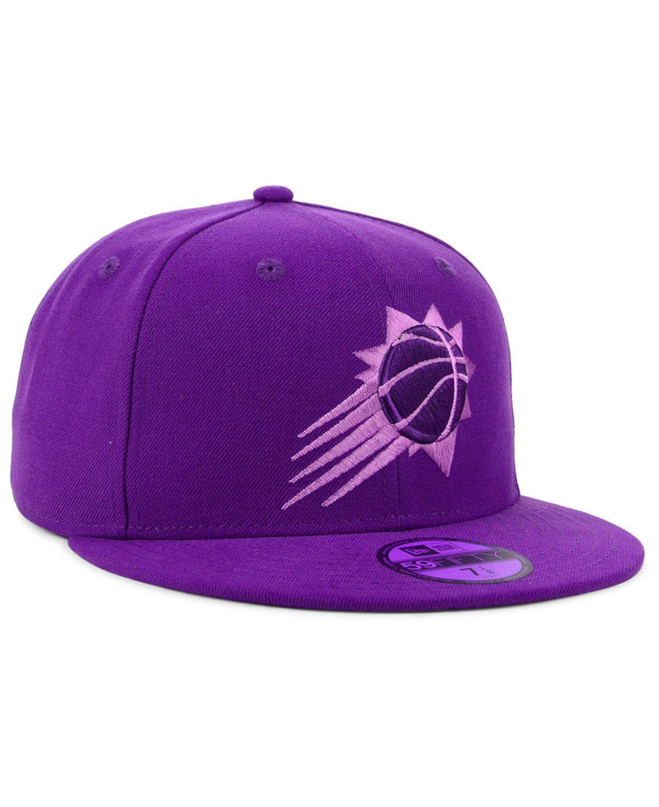 sports shoes e7358 a4574 KTZ - Purple Phoenix Suns Color Prism Pack 59fifty Fitted Cap for Men - Lyst.  View fullscreen