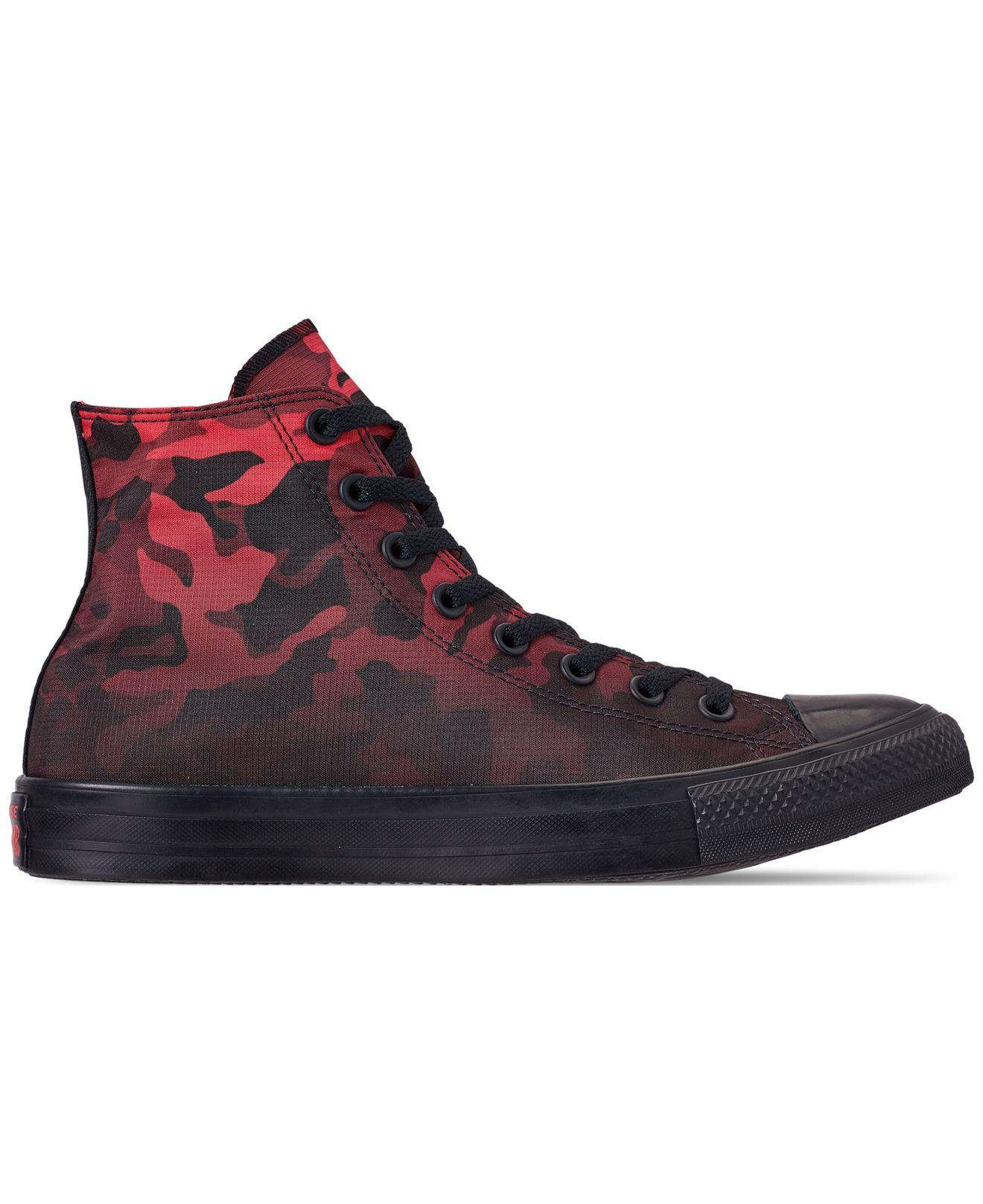 aacd9052d426 Lyst - Converse Chuck Taylor All Star Gradient Camo High Top Casual Sneakers  From Finish Line in Black for Men