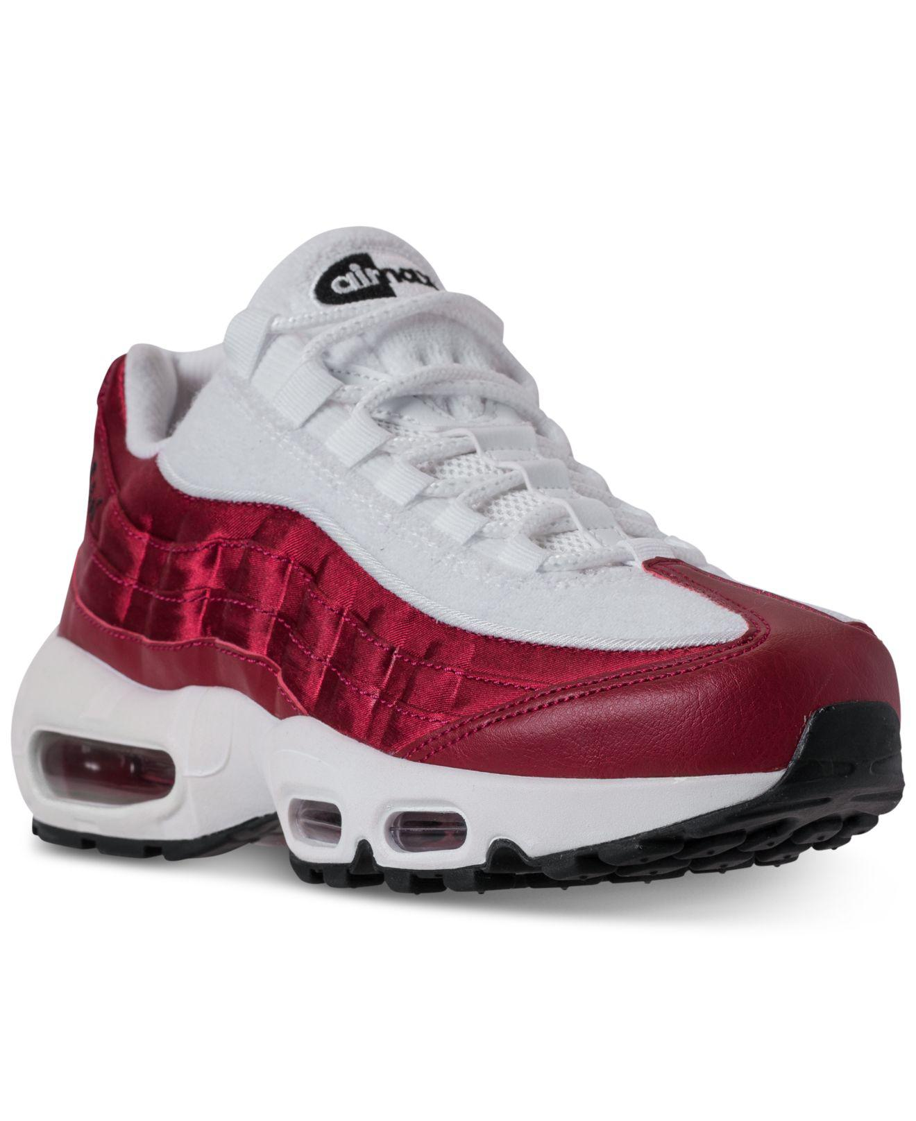 brand new 534fd 68aa6 Lyst - Nike Air Max 95 Lx Casual Sneakers From Finish Line in Red