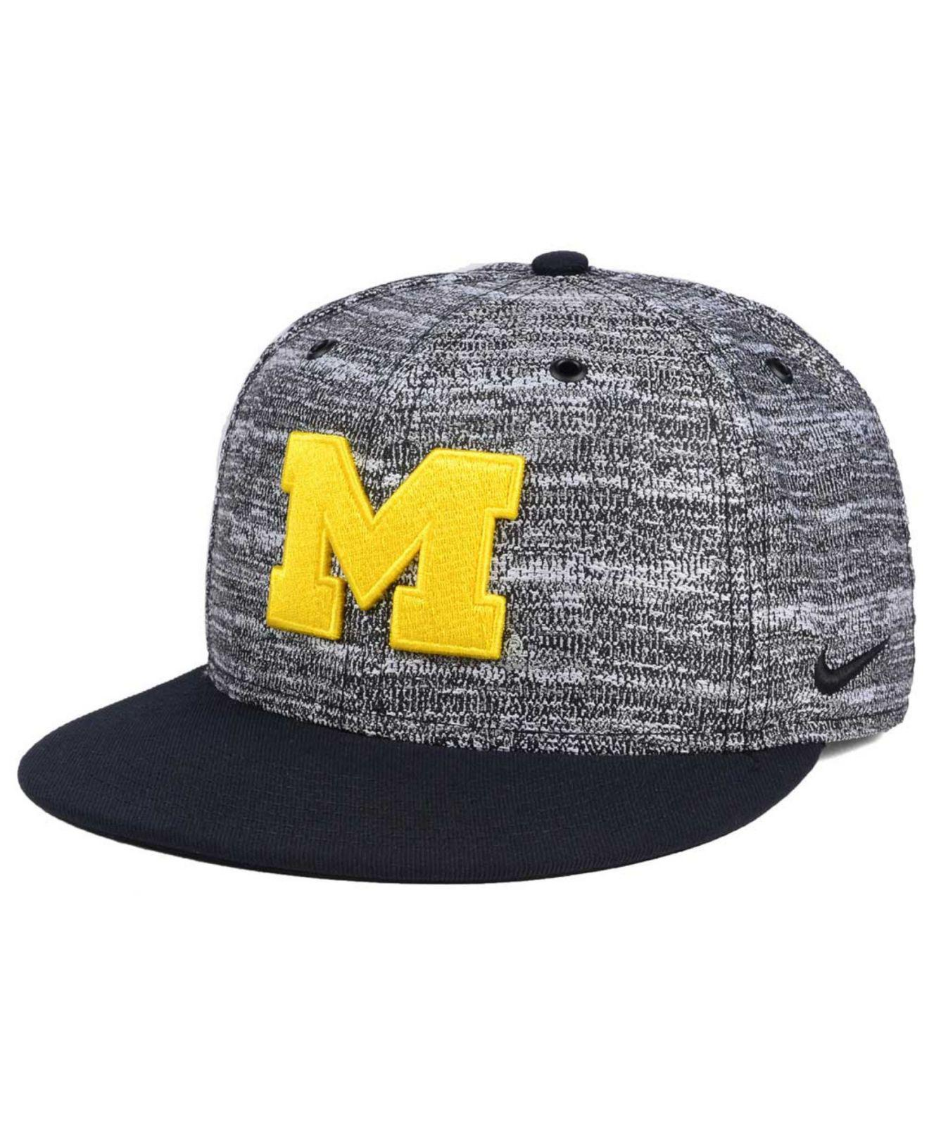 sale retailer 3376b 9a726 Lyst - Nike Col True Heathered Snapback Cap in Gray for Men