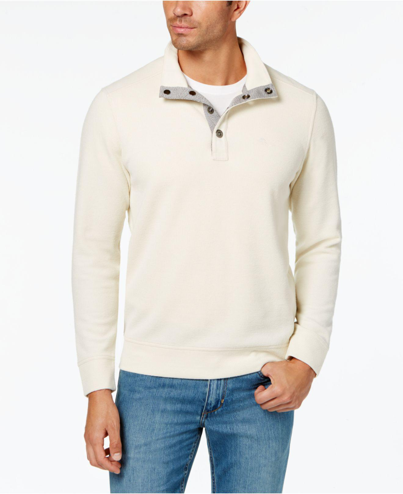 e58b614446 Lyst - Tommy Bahama Men's Cold Springs Mock-collar Sweater for Men