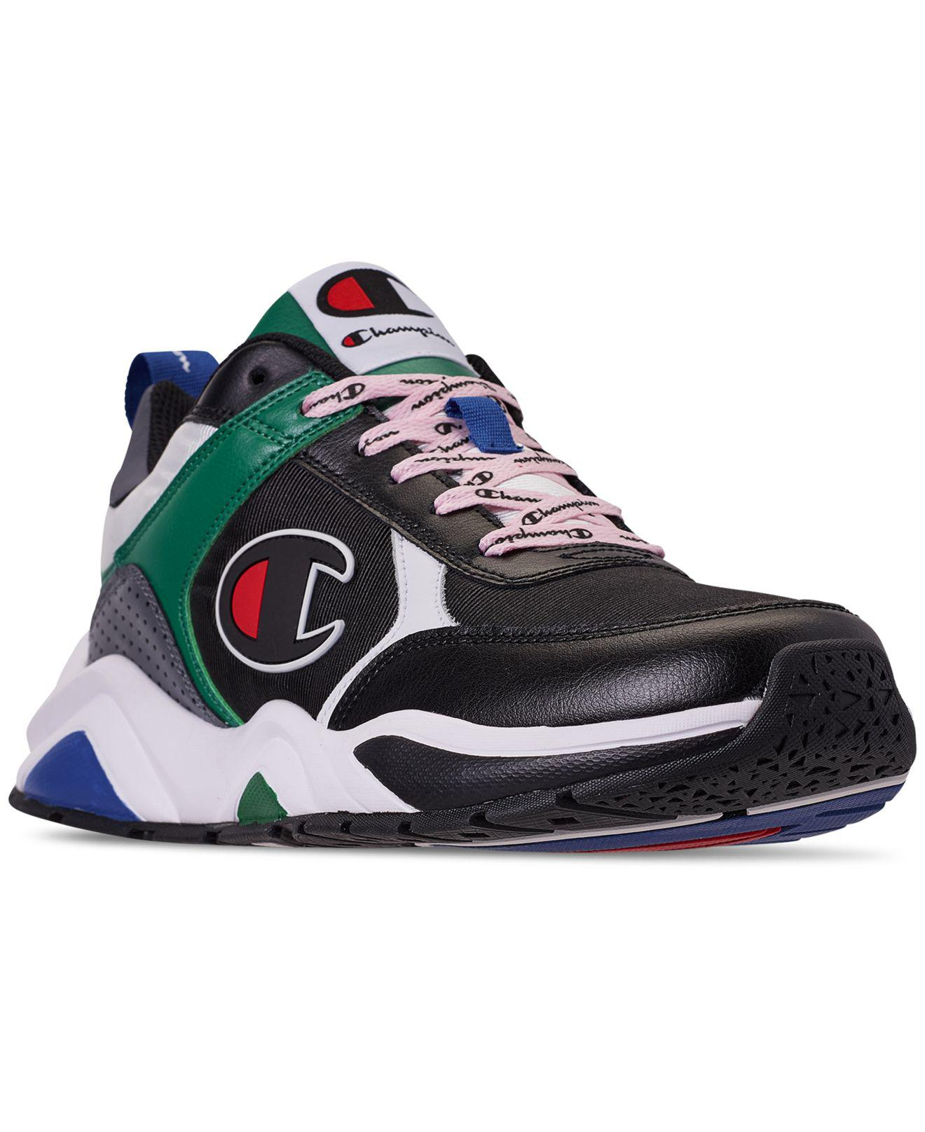 1f0287cf042 Champion - Black 93eighteen Casual Sneakers From Finish Line for Men -  Lyst. View fullscreen