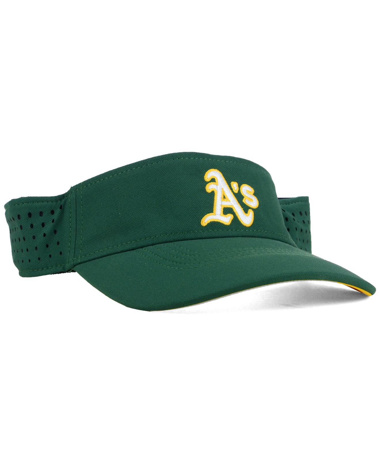 7c8b4f64b3c Lyst - Nike Oakland Athletics Vapor Visor in Green for Men