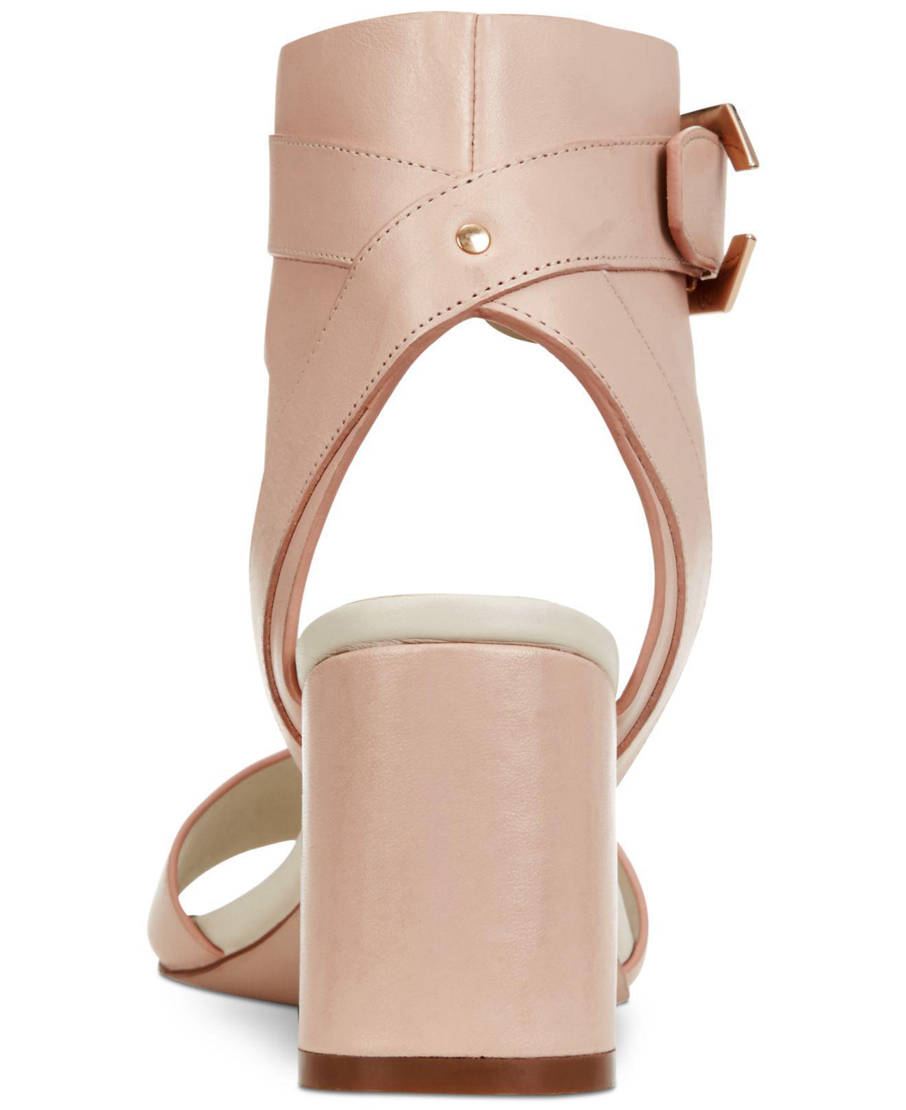 e42df5f83f9 Lyst - Cole Haan Avani Block-heel Sandals