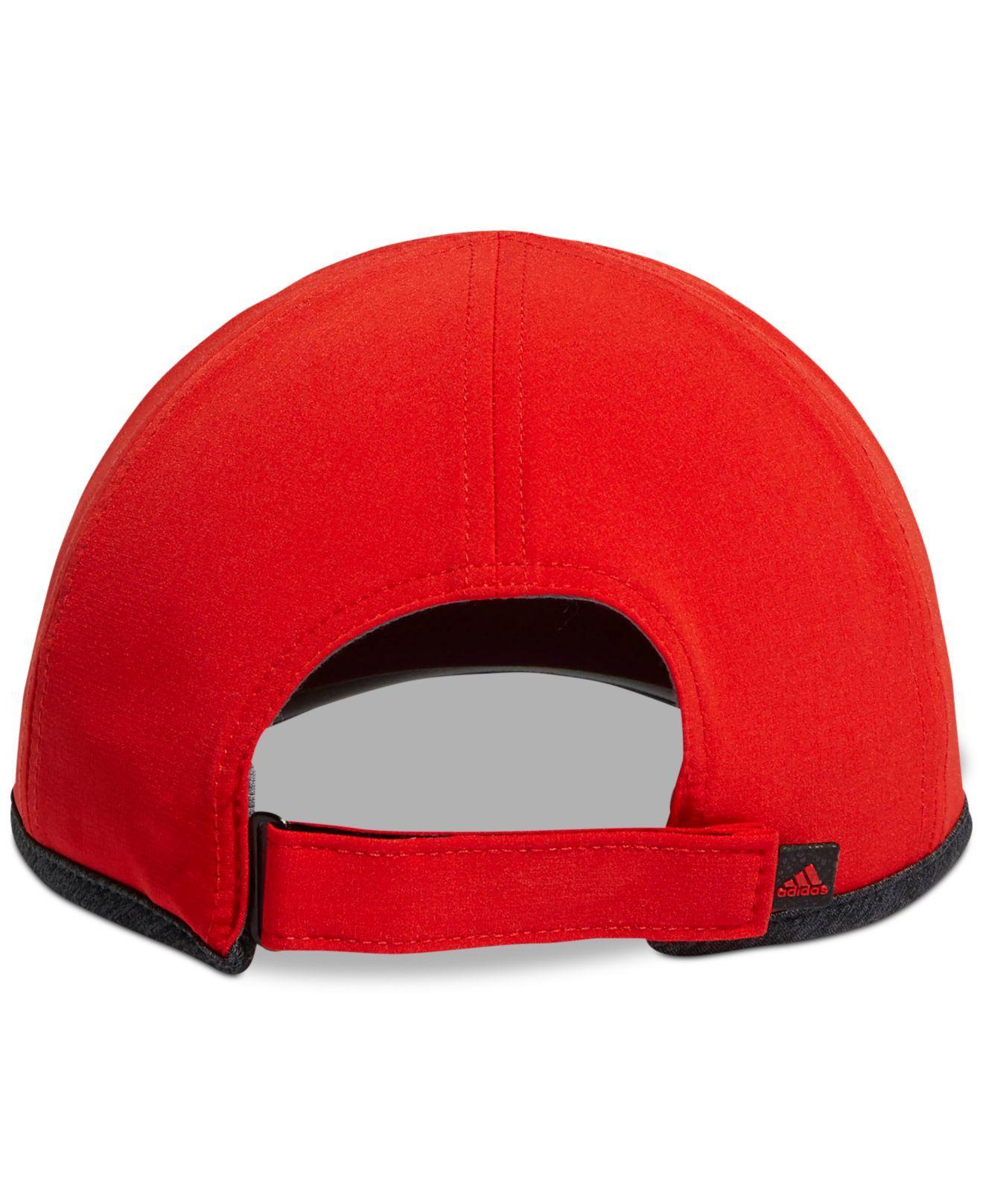 4b5eb2e2616 Lyst - adidas Adizero Superlite Hat in Red for Men
