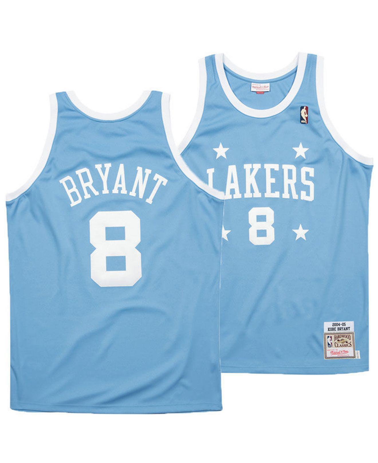 Mitchell   Ness. Men s Blue Kobe Bryant Los Angeles Lakers Authentic Jersey c2453b443