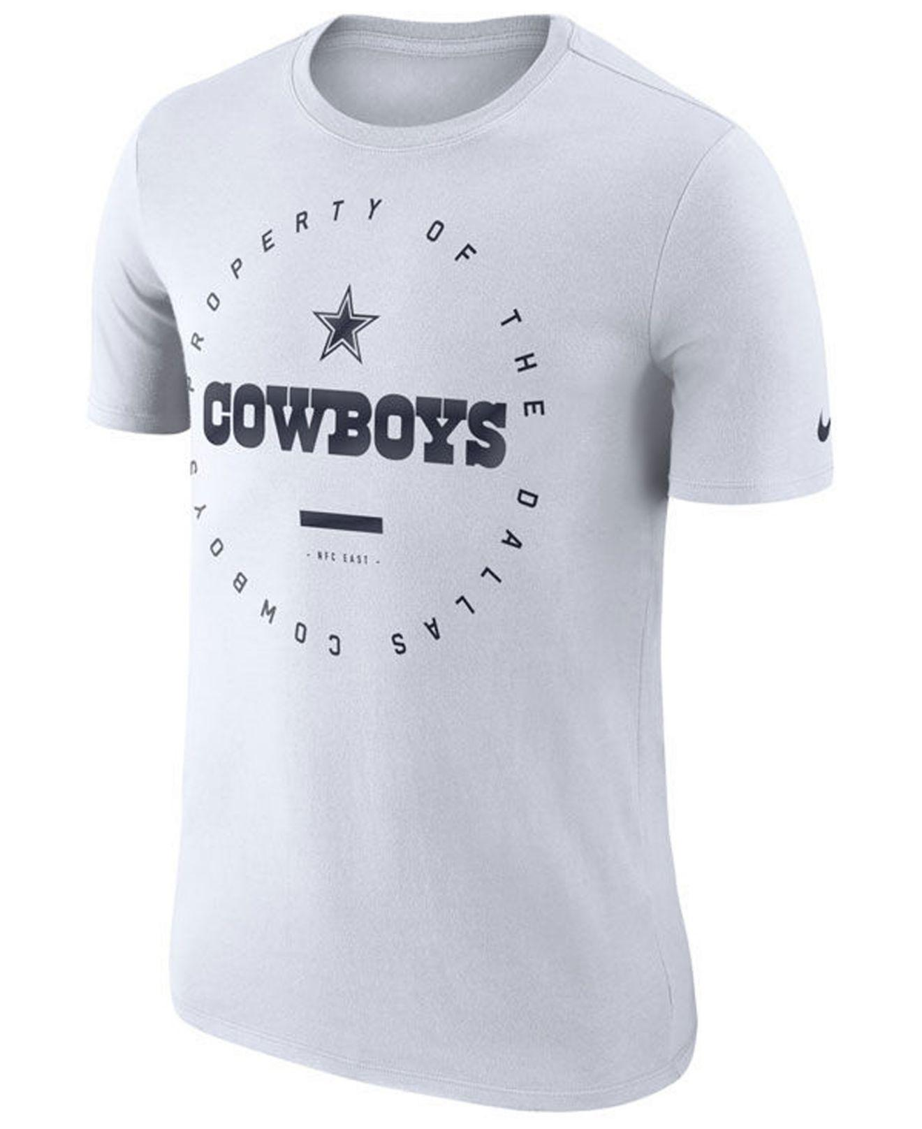 f01358e5c Lyst - Nike Dallas Cowboys Property Of T-shirt in White for Men