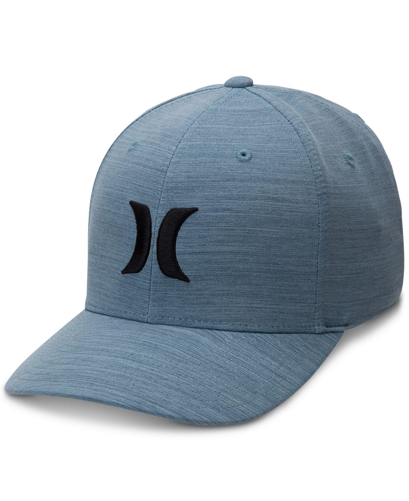 a6d24bed87577 Lyst - Hurley Dri-fit Stretch Performance Cutback Hat in Blue for Men