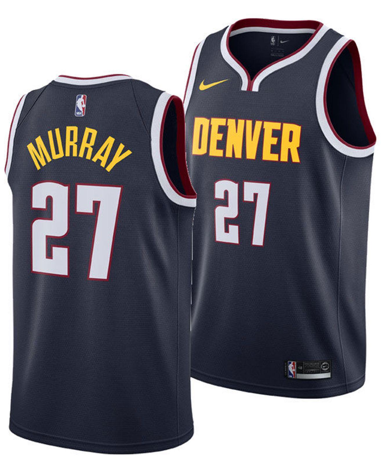 e0c170639d09 Nike - Blue Jamal Murray Denver Nuggets Icon Swingman Jersey for Men -  Lyst. View fullscreen