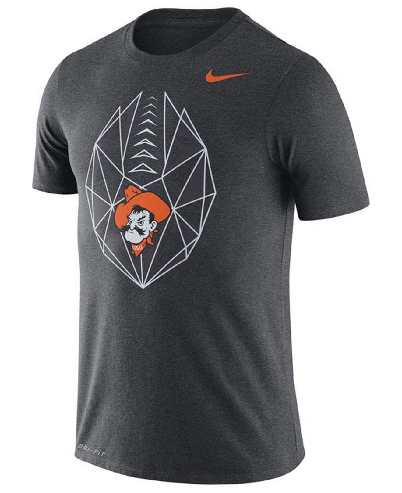 ef053da8 Lyst - Nike Oklahoma State Cowboys Legend Icon T-shirt in Gray for Men