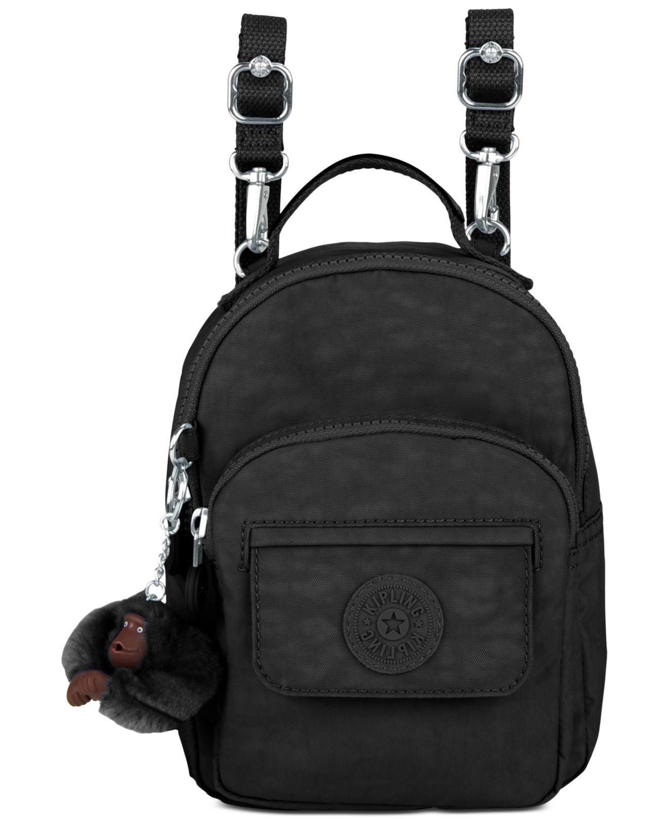 99b2b5a275 Lyst - Kipling Alber 3-in-1 Convertible Mini Bag Backpack in Black