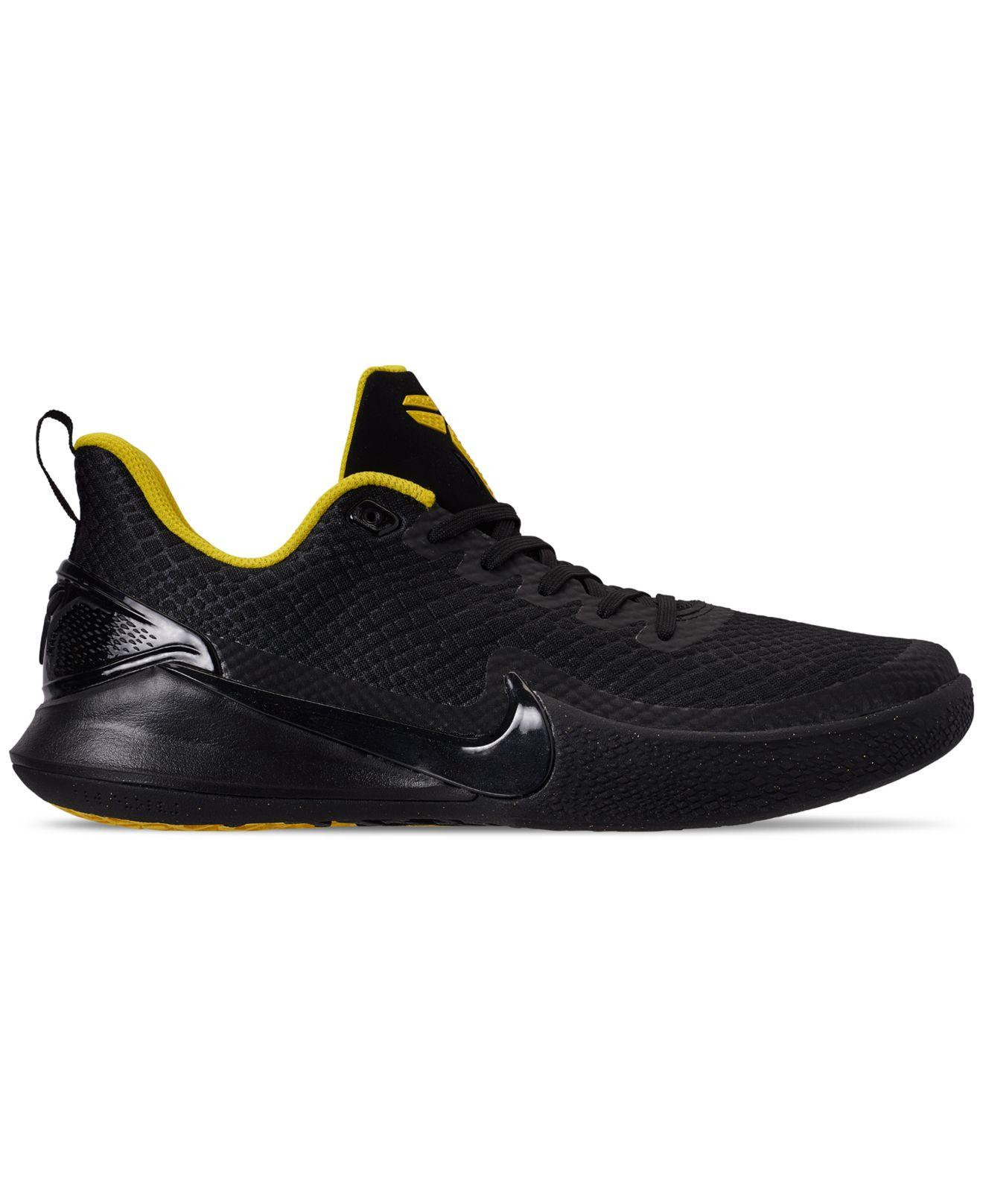 6cdcd12760907 Lyst - Nike Mamba Rage Basketball Sneakers From Finish Line in Black for Men