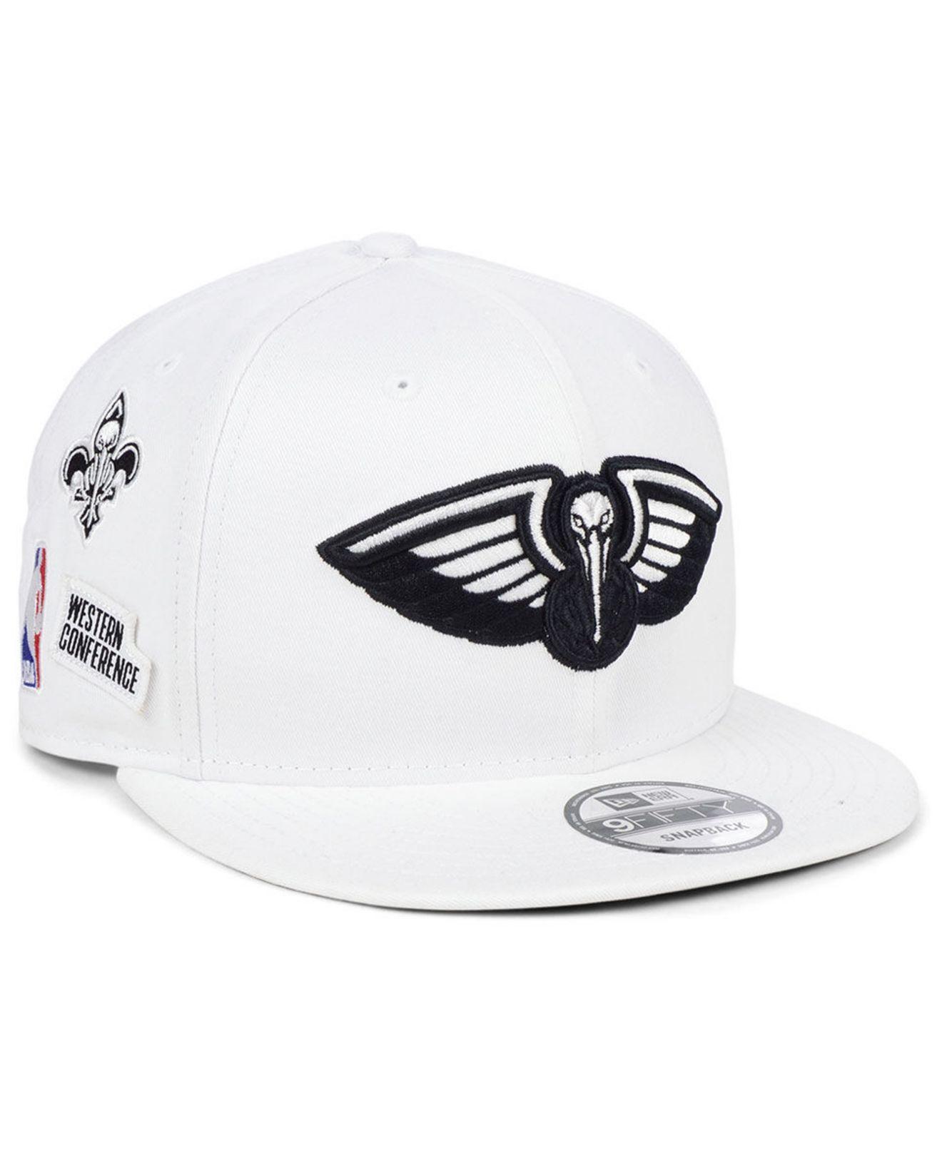 super popular cfba3 e883c KTZ. Men s White New Orleans Pelicans Night Sky 9fifty Snapback Cap