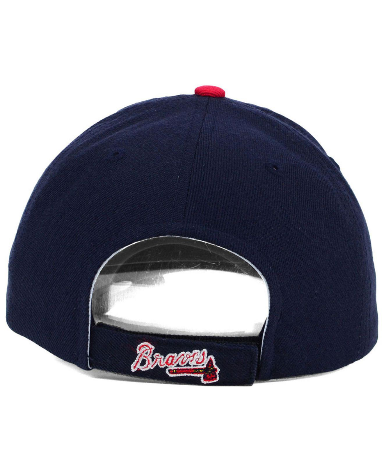 newest 23a7a 99b6d ... coupon code for lyst ktz 47 brand atlanta braves mvp curved cap in blue  for men