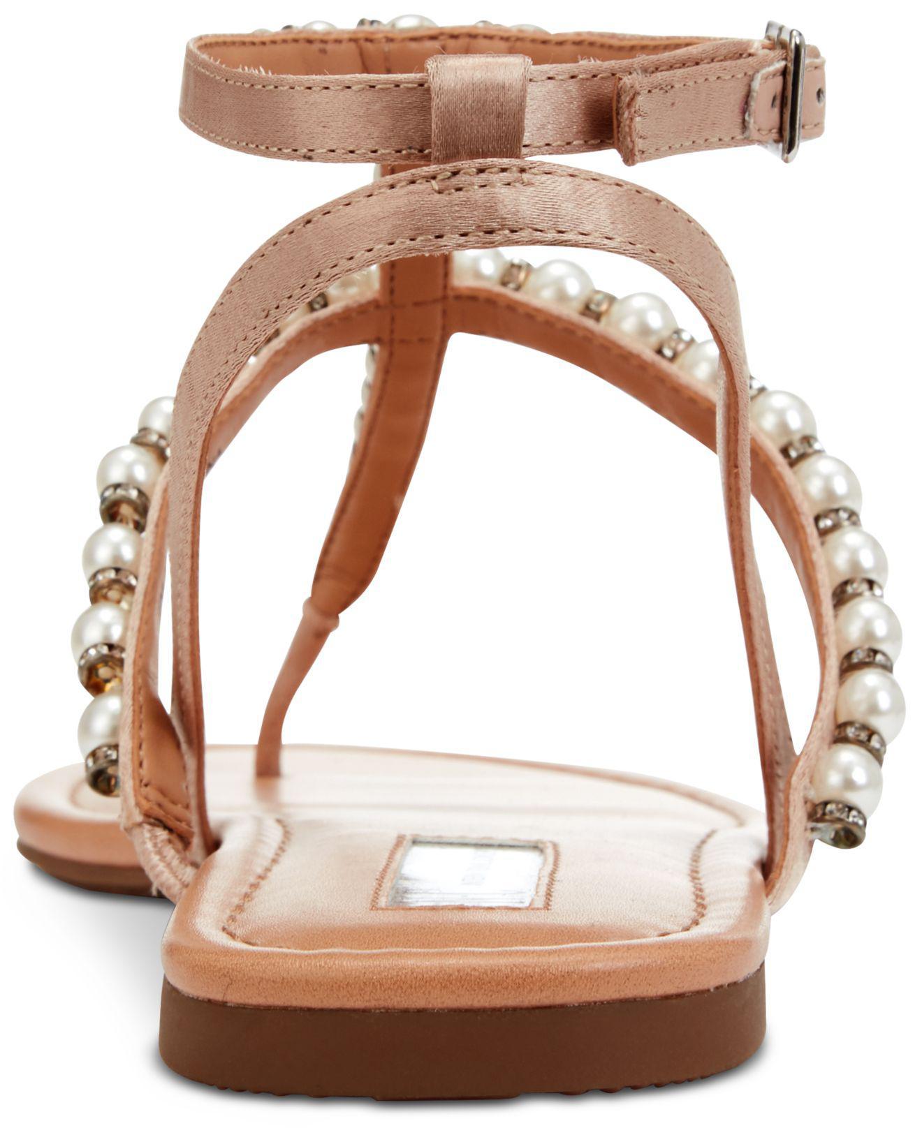 b83b230ca12 Lyst - Inc International Concepts Madigane Embellished Flat Sandals ...