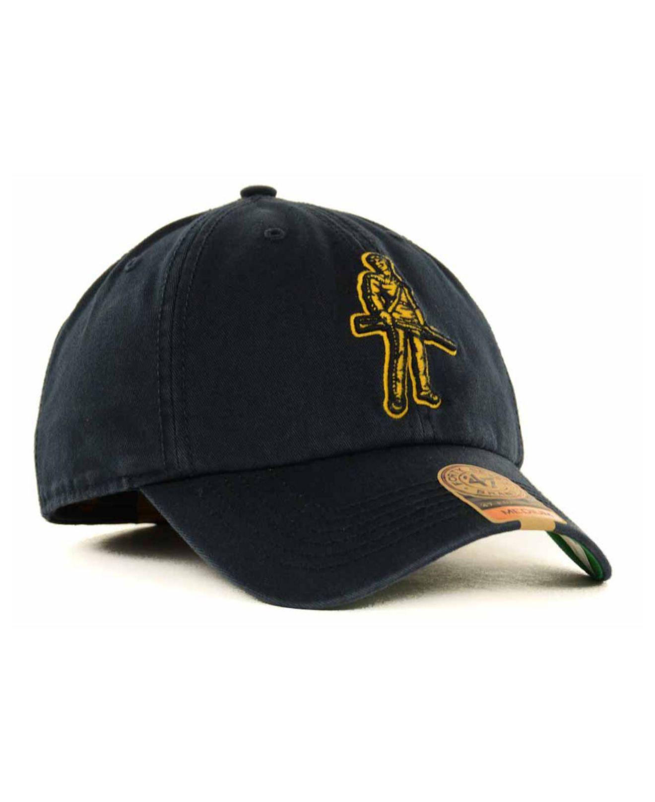 a4eeba9ff94 47 Brand - Blue West Virginia Mountaineers Franchise Cap for Men - Lyst.  View fullscreen