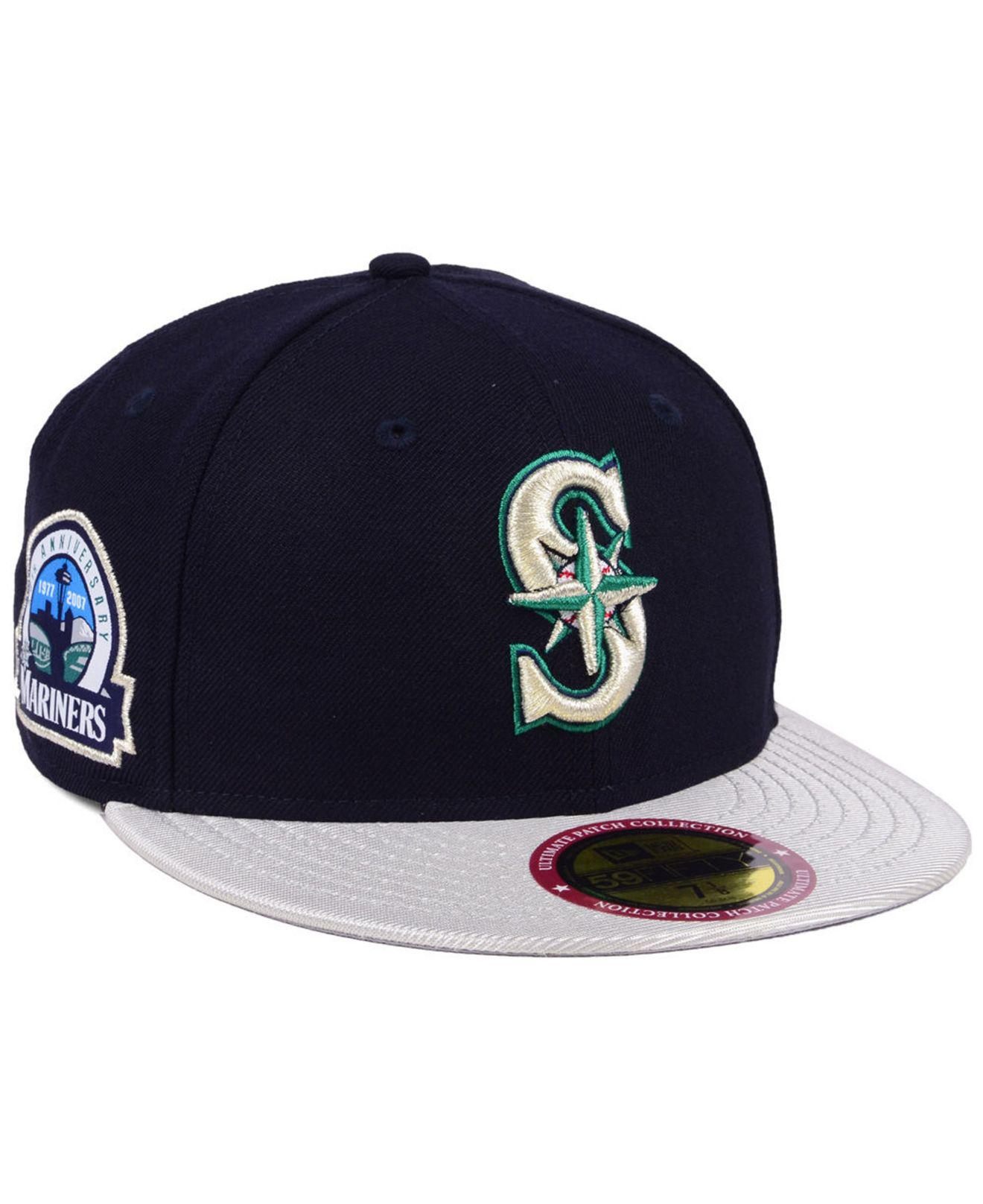 bbde0bab9c0 Lyst - KTZ Ultimate Patch Collection Anniversary 59fifty Cap in Blue ...