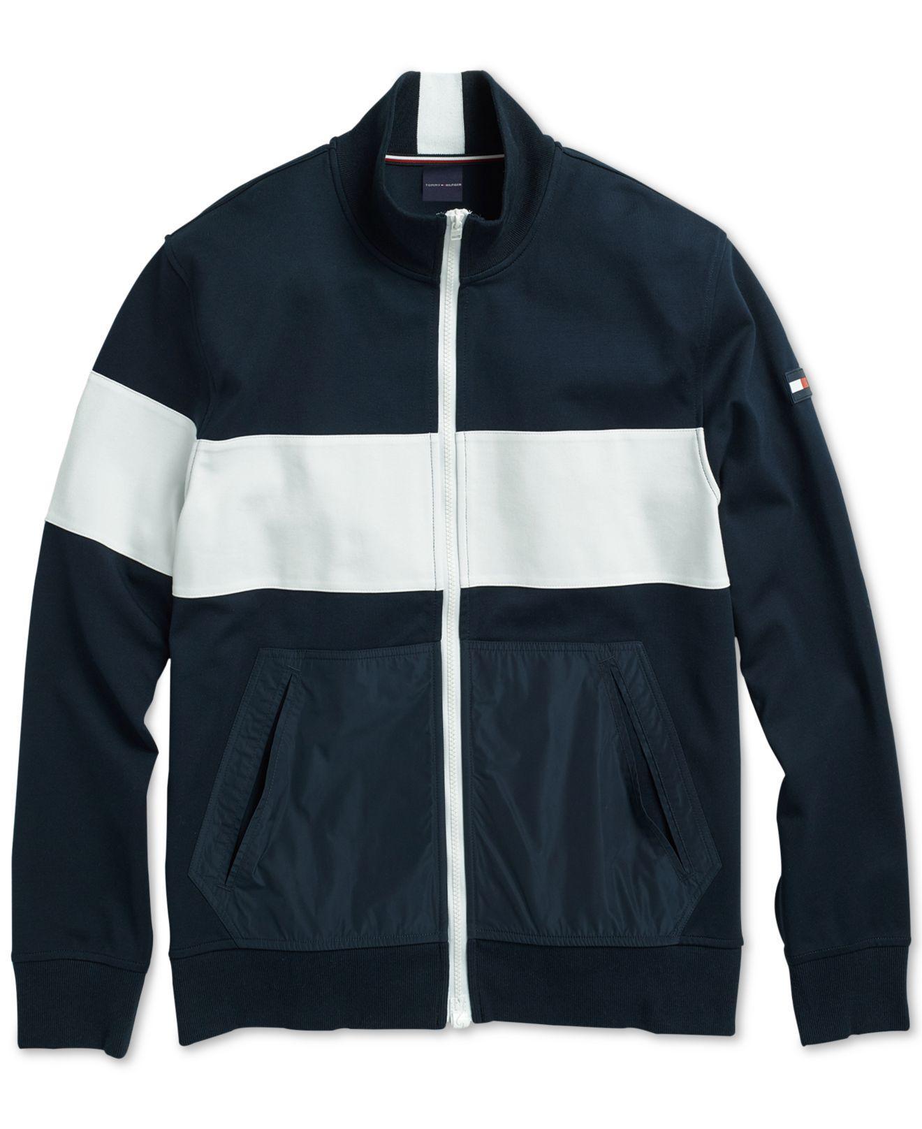 c23142a0 Lyst - Tommy Hilfiger Mariner Fleece Jacket in Blue for Men