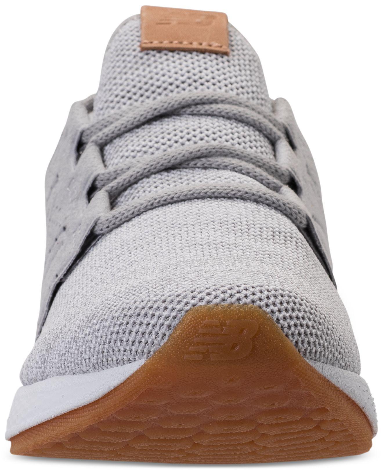 83e87b1b9 Lyst - New Balance Wide Width Fresh Foam Cruz V2 Running Sneakers ...
