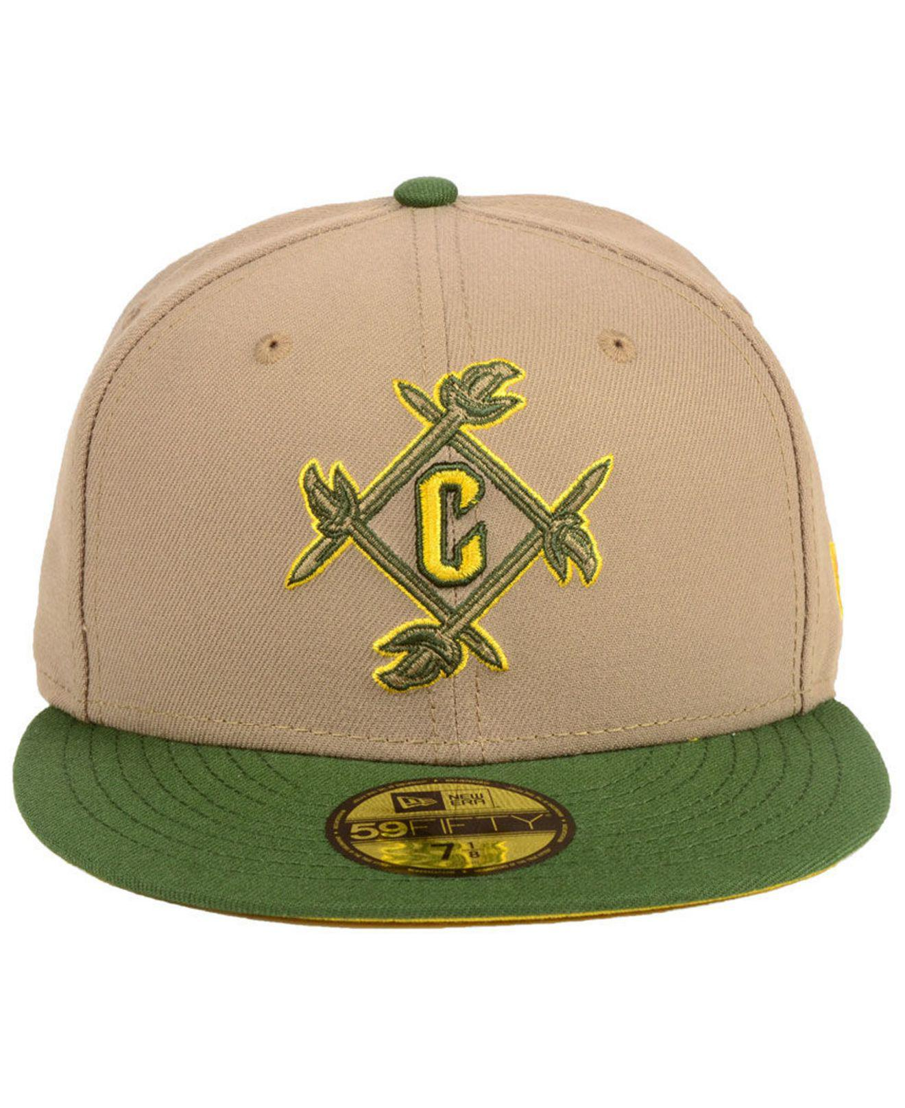 c4d8360bd2393 ... snapback 74592 81225  new zealand lyst ktz cleveland cavaliers fall 2  tone combo 59fifty fitted cap in green for