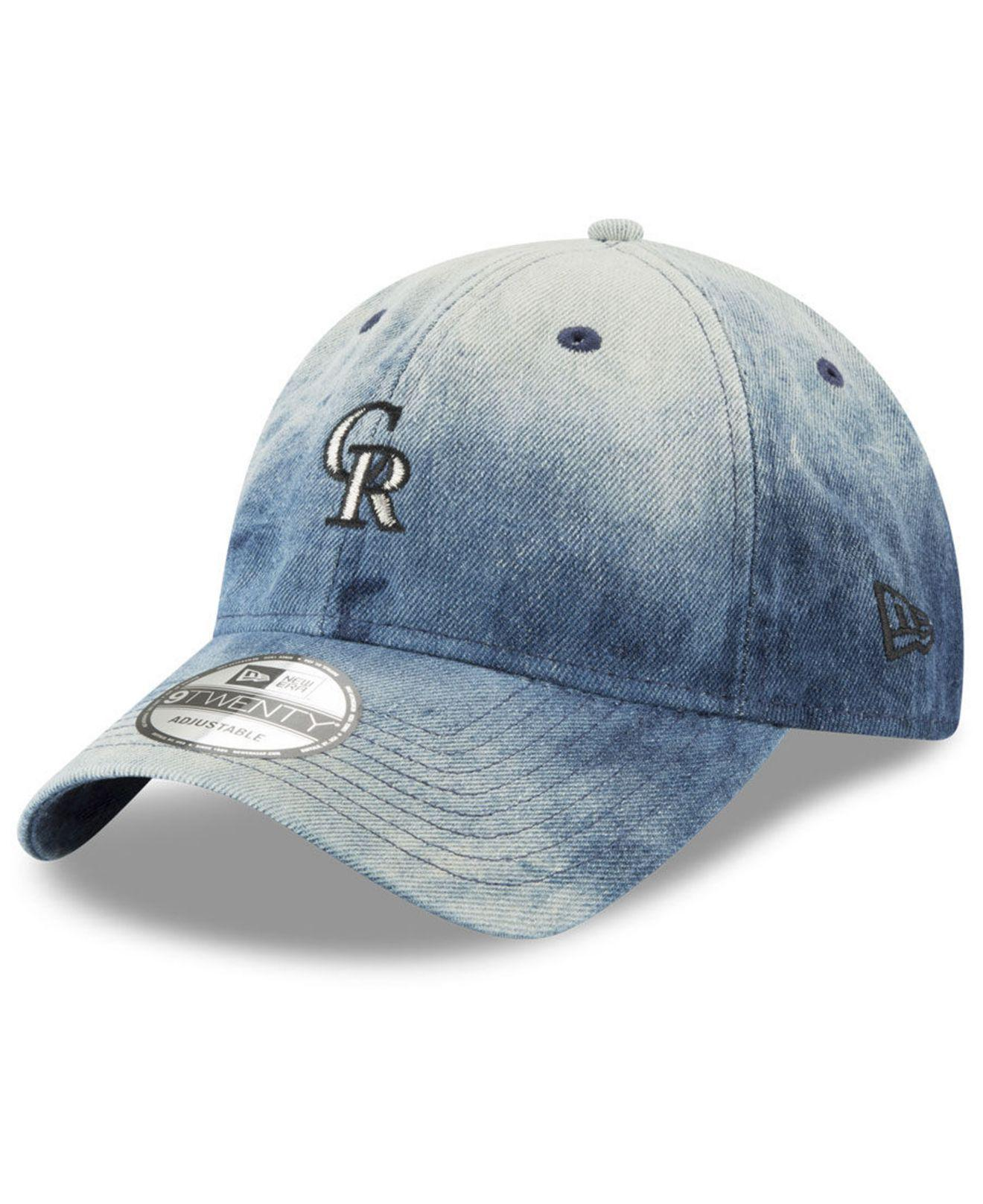 purchase cheap ce370 0e162 ... new era mlb batting practice prolight 39thirty cap 20953129 online sale  7332d 80dc2  australia ktz. mens blue colorado rockies denim wash out  9twenty ...