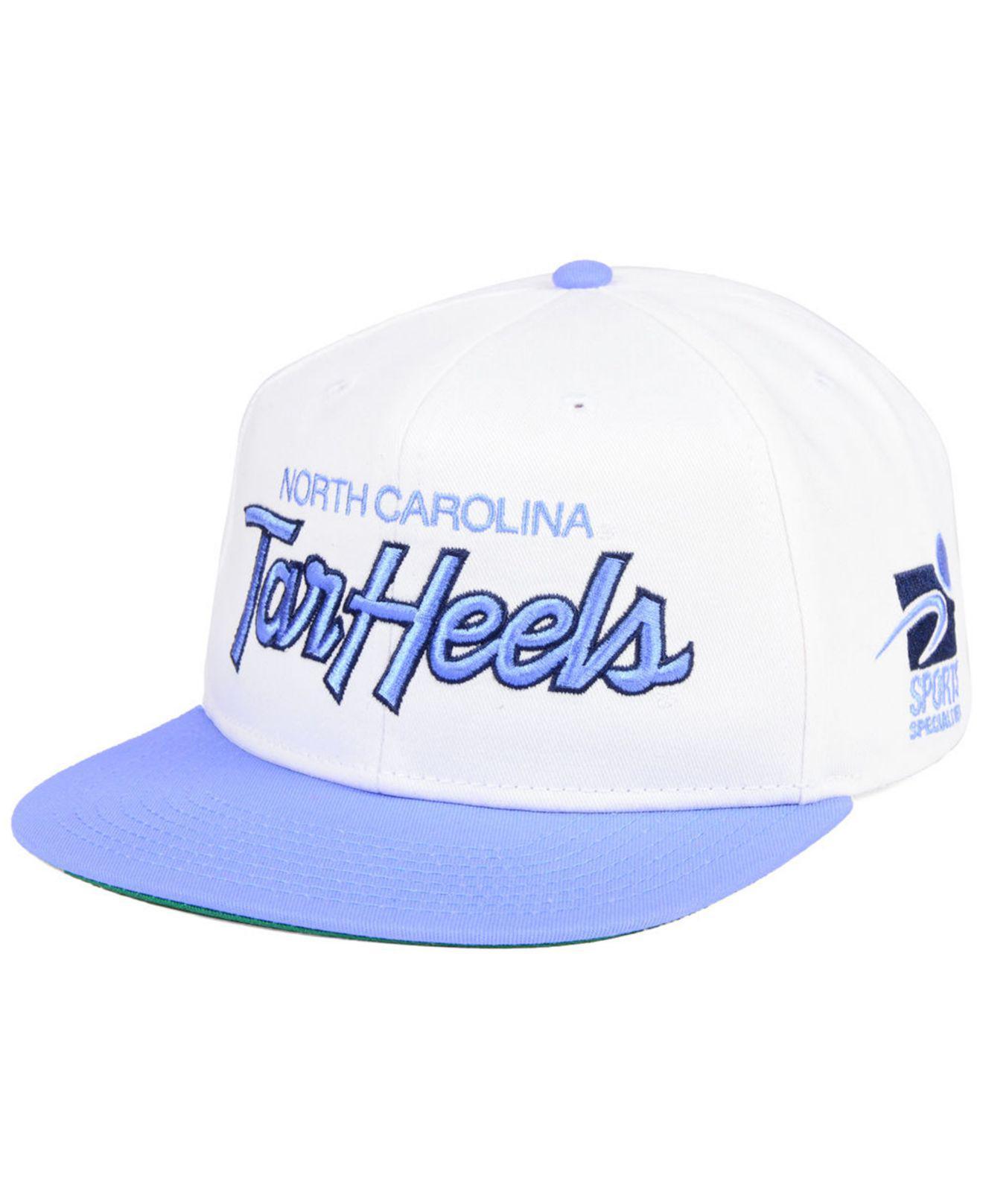 online retailer 6f6b0 16d91 Nike North Carolina Tar Heels Sport Specialties Snapback Cap in ...