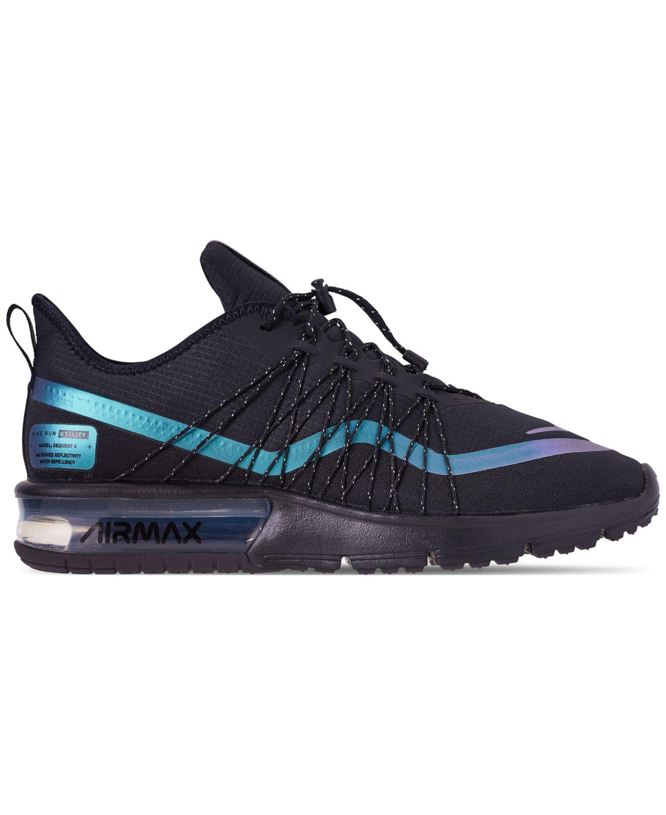 9c8296803310 Lyst - Nike Men s Air Max Sequent 4 Shield Low-top Sneakers in Black for Men  - Save 23%